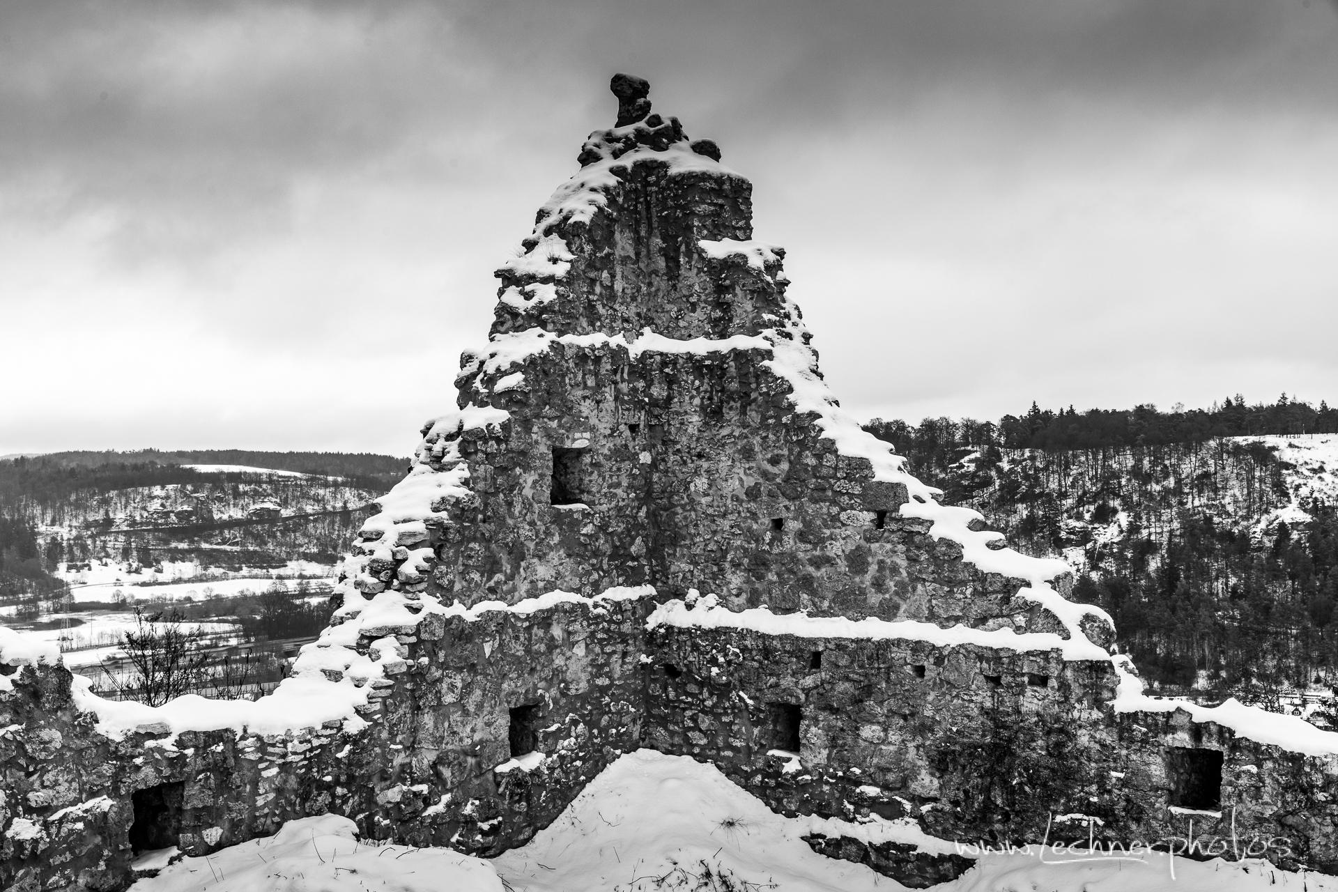 Castle Ruin Rumburg near Enkering, Germany