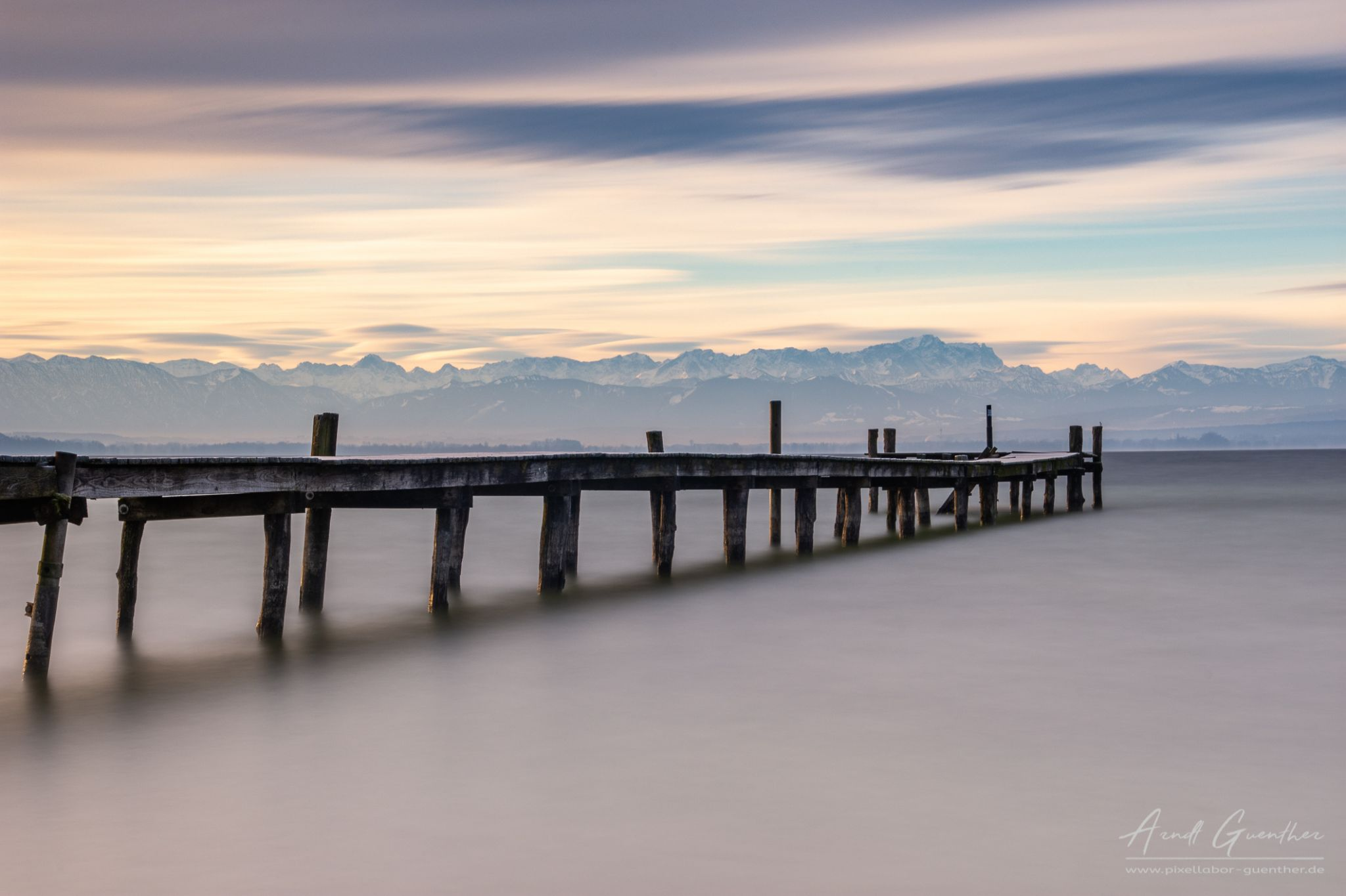 Jetty to the alps, Germany