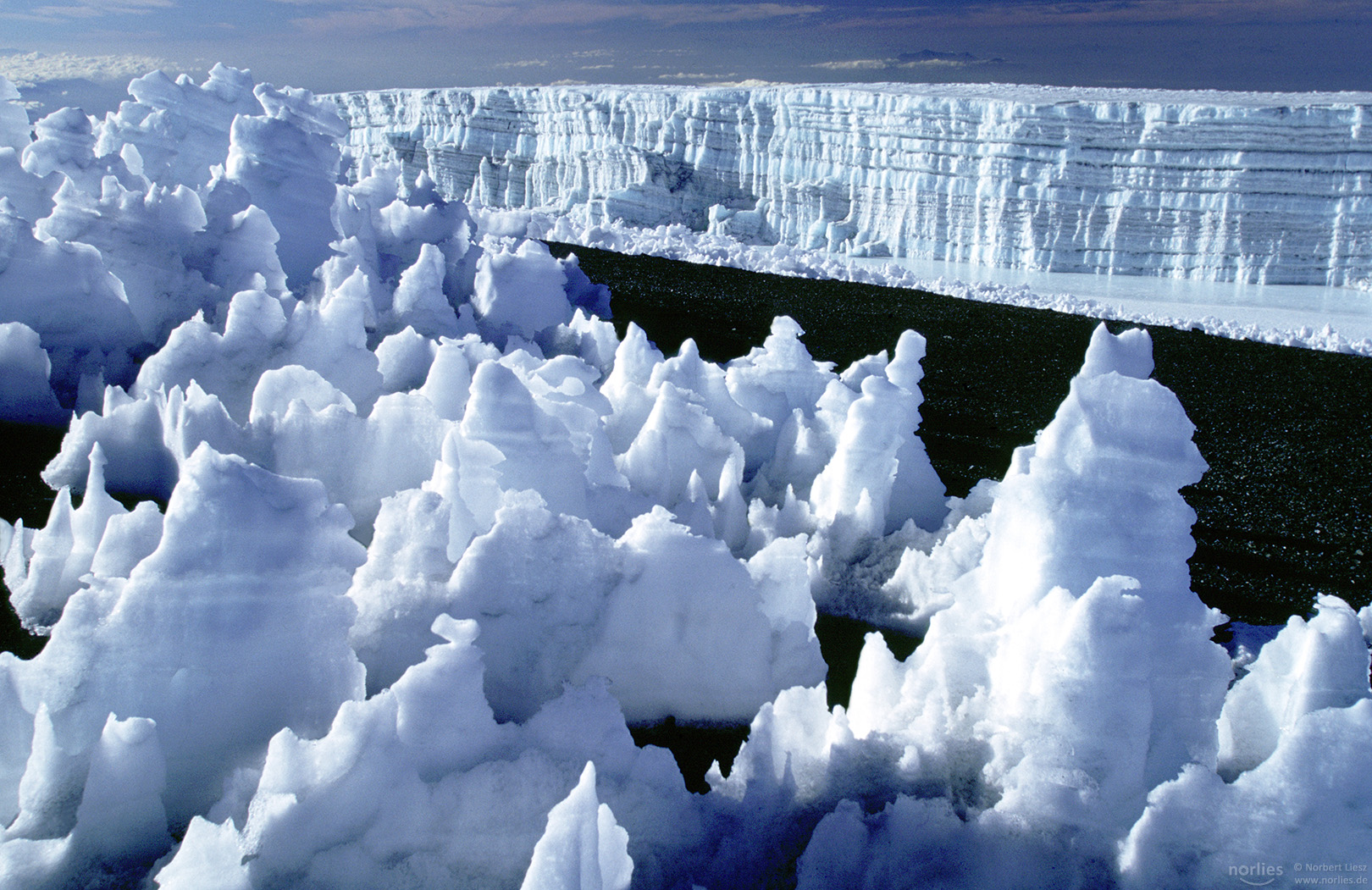 Kilimanjaro glacier, Tanzania