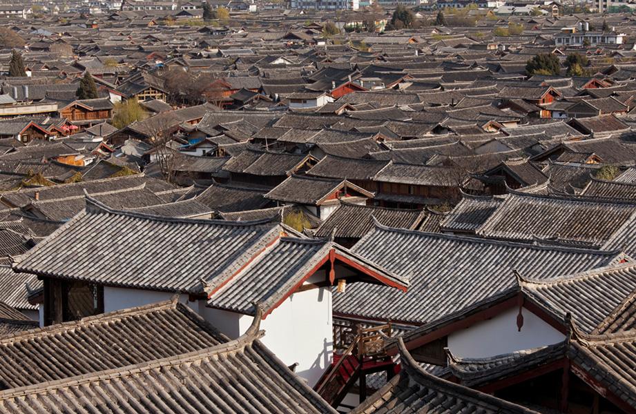 Old town of Lijiang, China