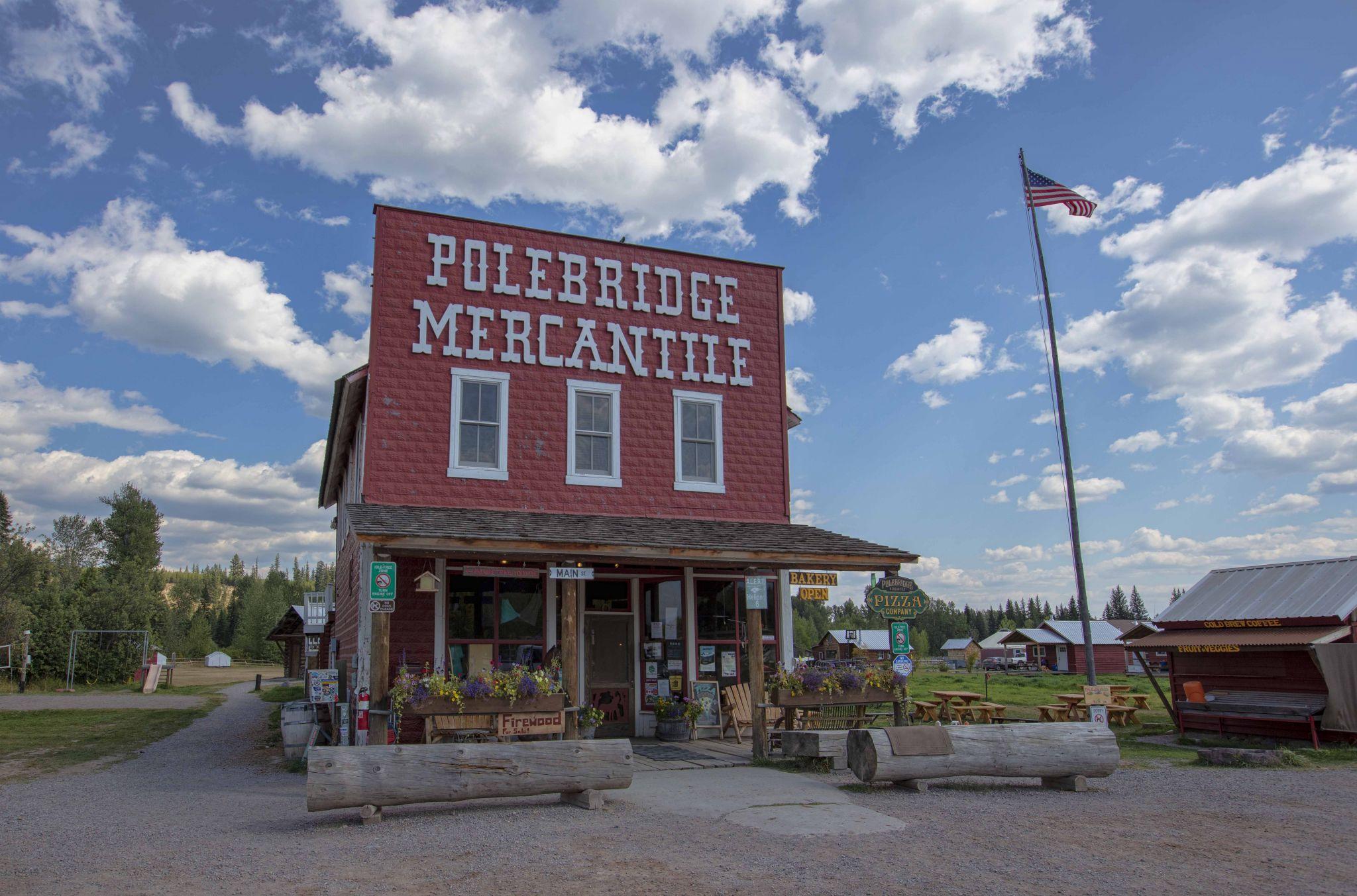 Polebridge Mercantile, USA