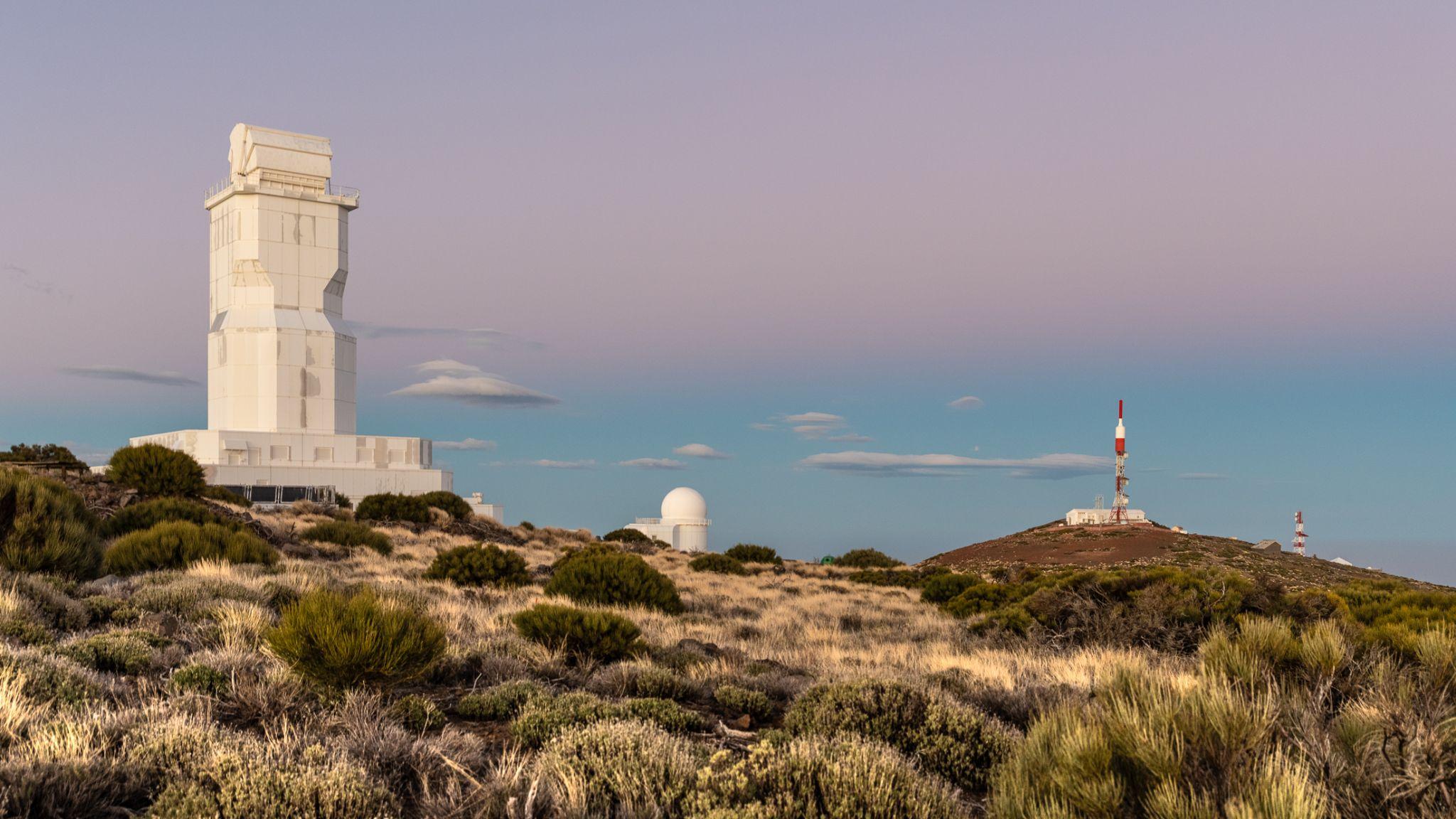 Slooh Teide Observatory, Spain