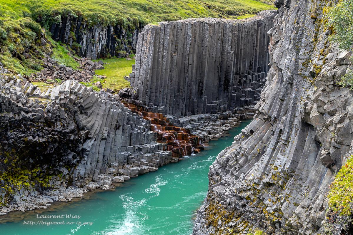 Stuðlagil Basalt Canyon, Iceland
