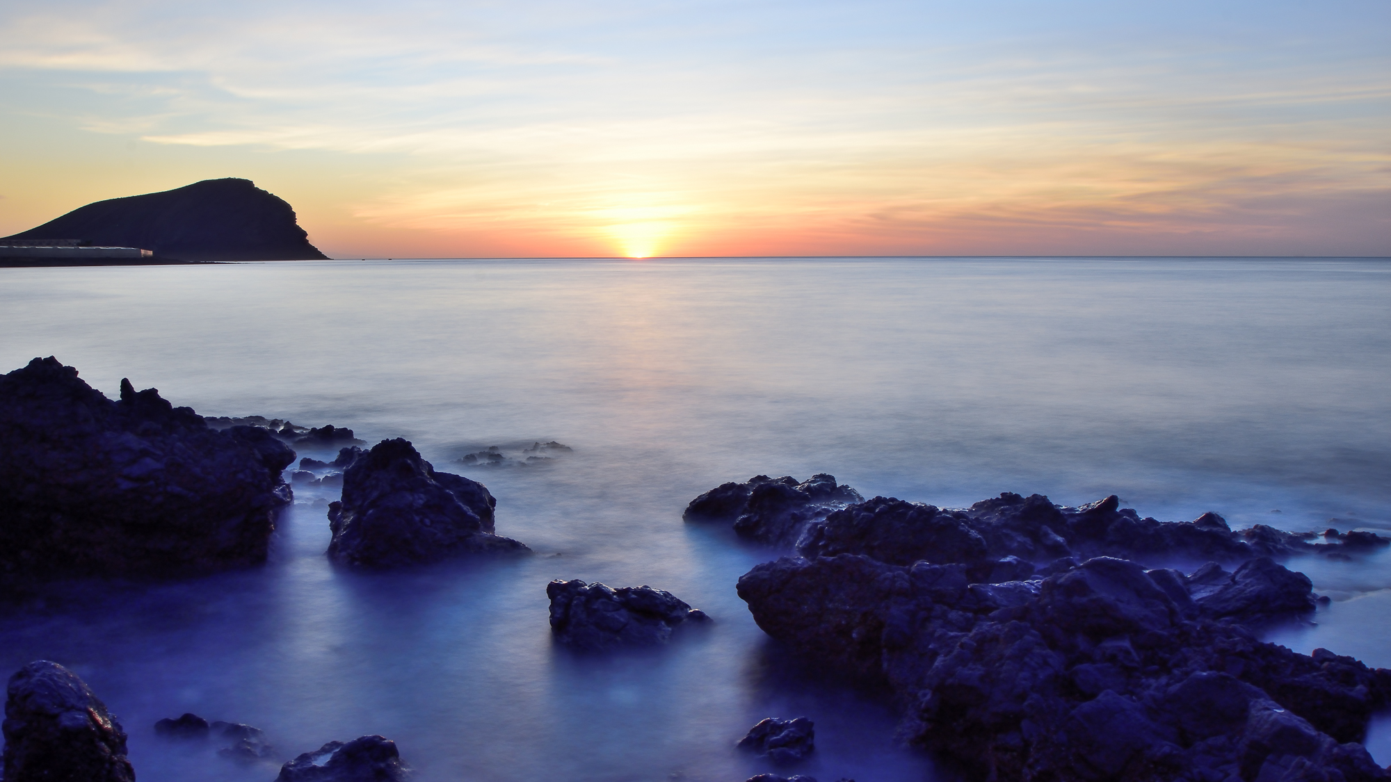 Sunrise Montana Roja, Spain