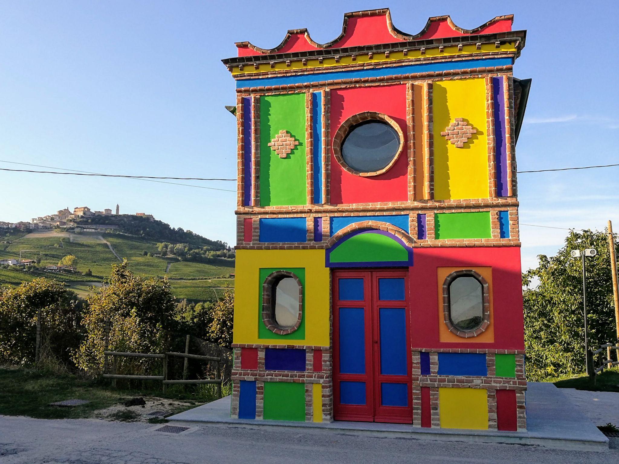The Chapel of Barolo, Italy