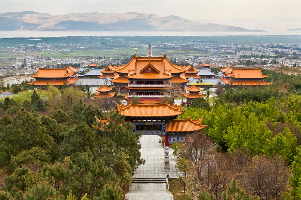 Three Pagodas of Dali, China