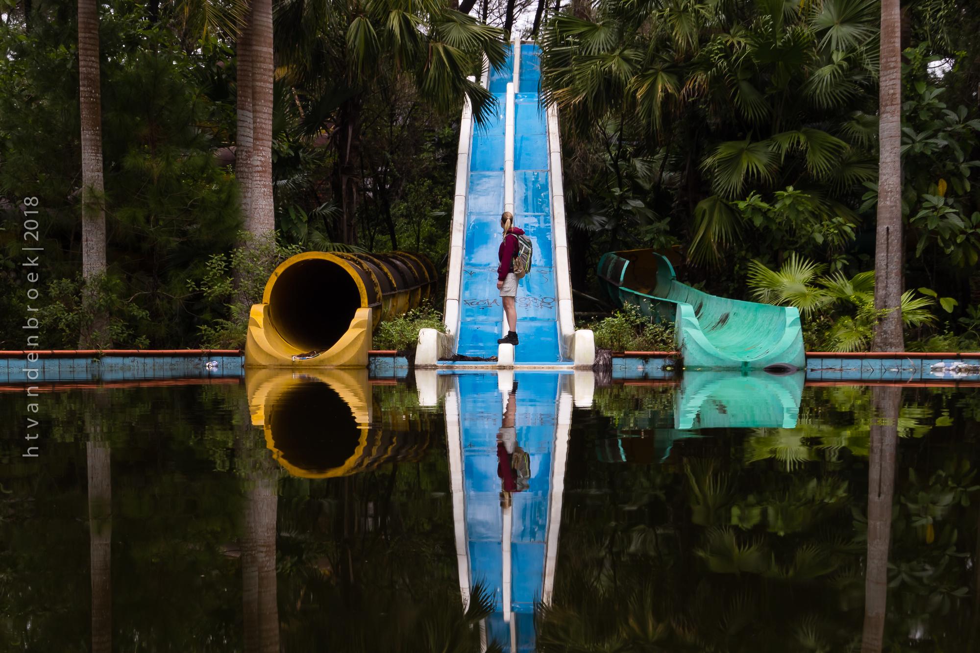 Abandoned Waterpark Hue, Vietnam