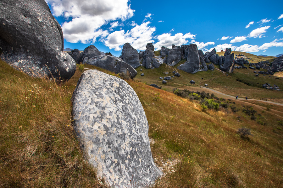 Castle Hill Peak South Island, New Zealand