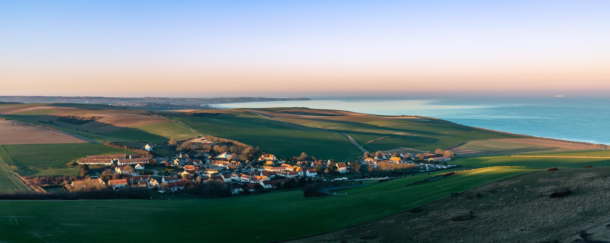 Côte d'Opale - golden hour, France