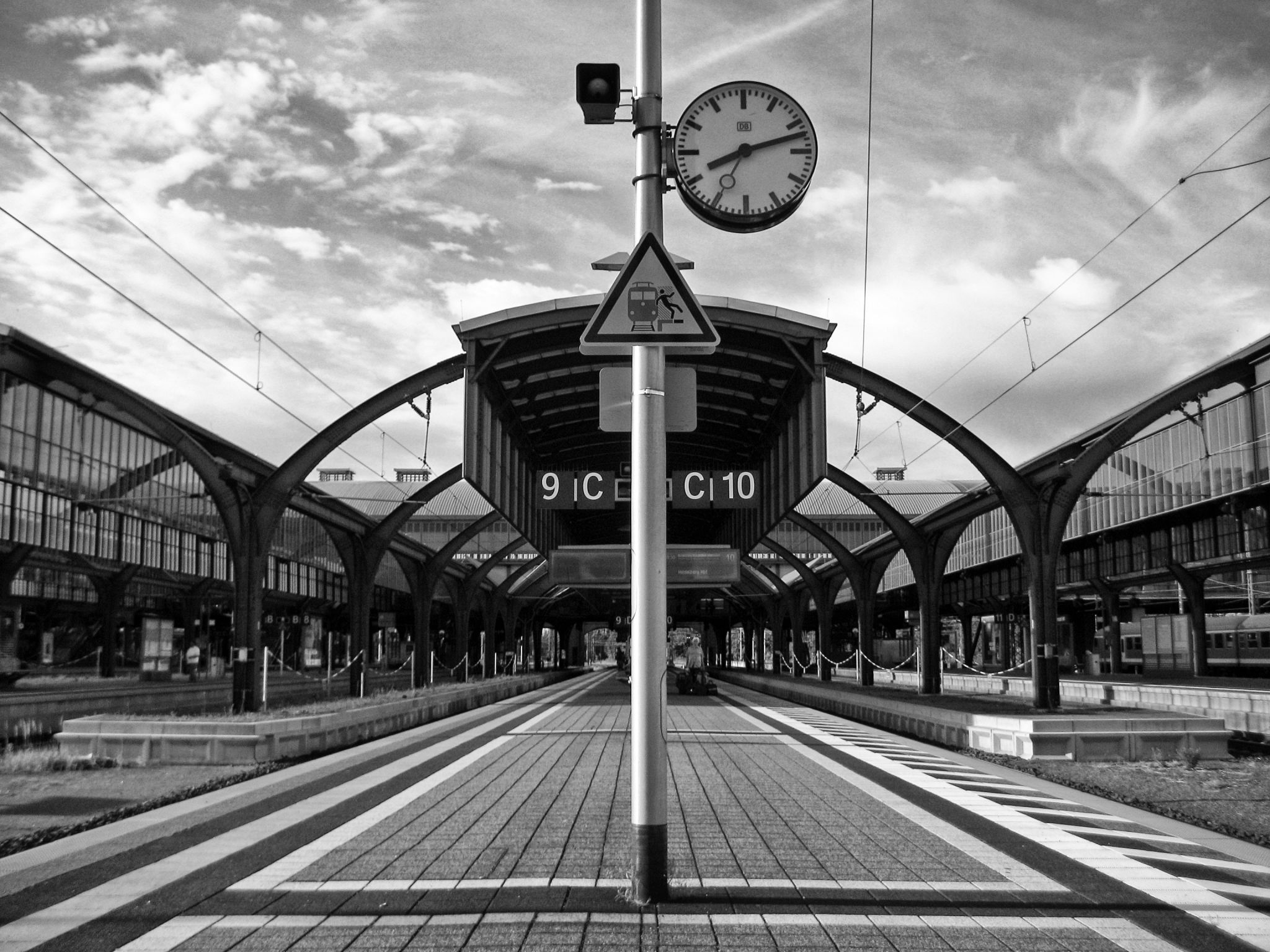 Darmstadt Main Station, Germany
