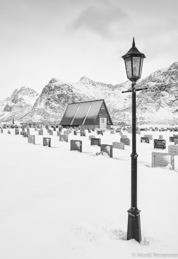 Flakstad Cemetery, Norway