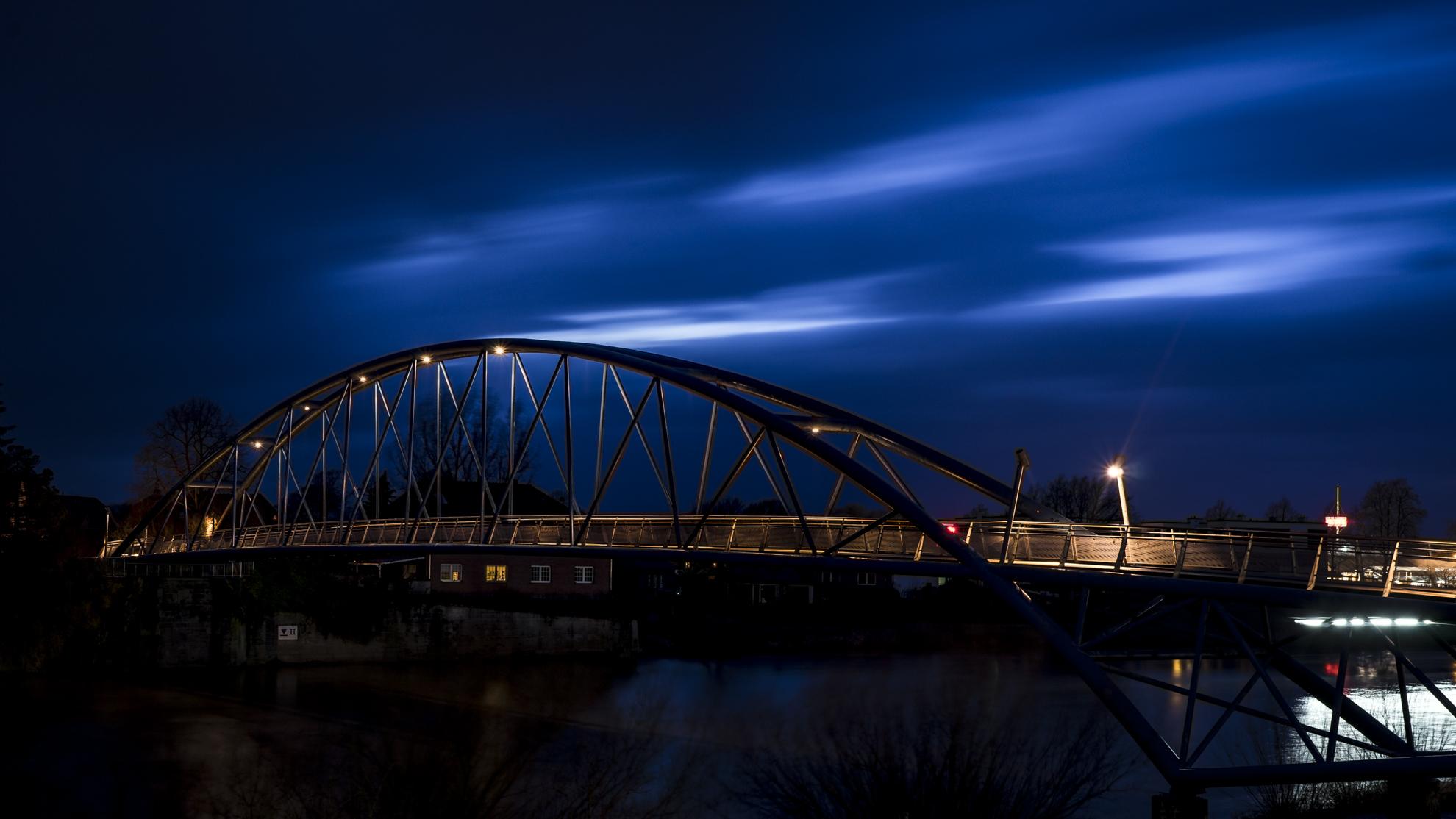 Footbridge Nienburg, Germany