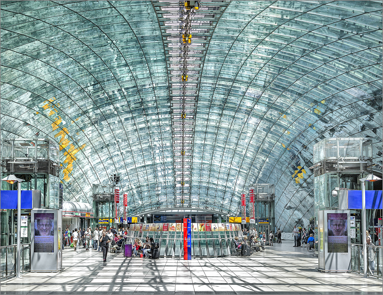 Frankfurt Airport / Railway Station, Germany