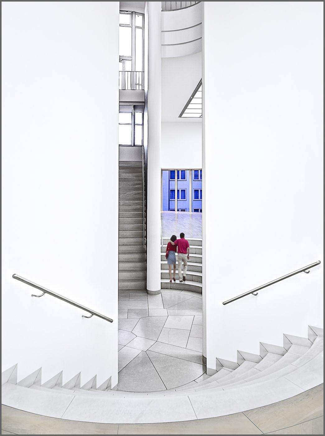 In the Museum of Modern Art, Frankfurt, Germany