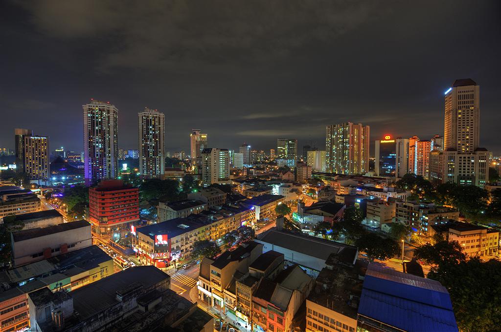 Kuala Lumpur at Night, Malaysia