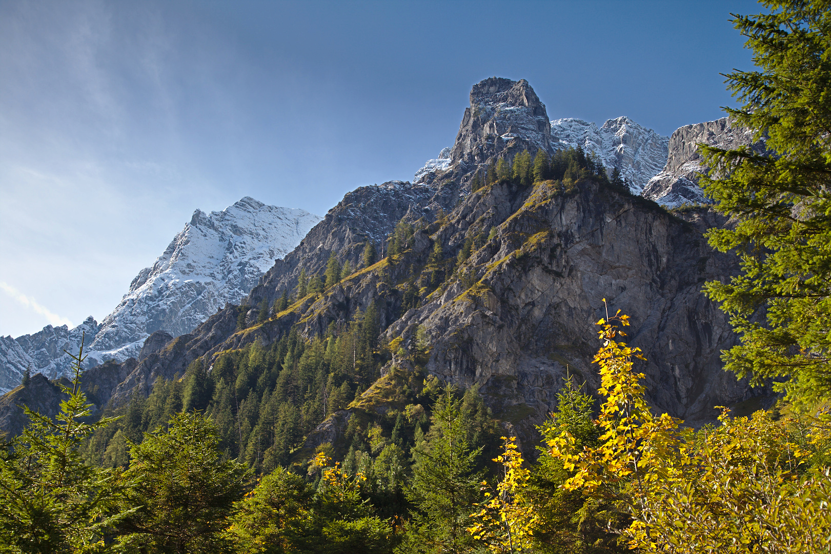 Mountains close to Wimbach valley, Germany