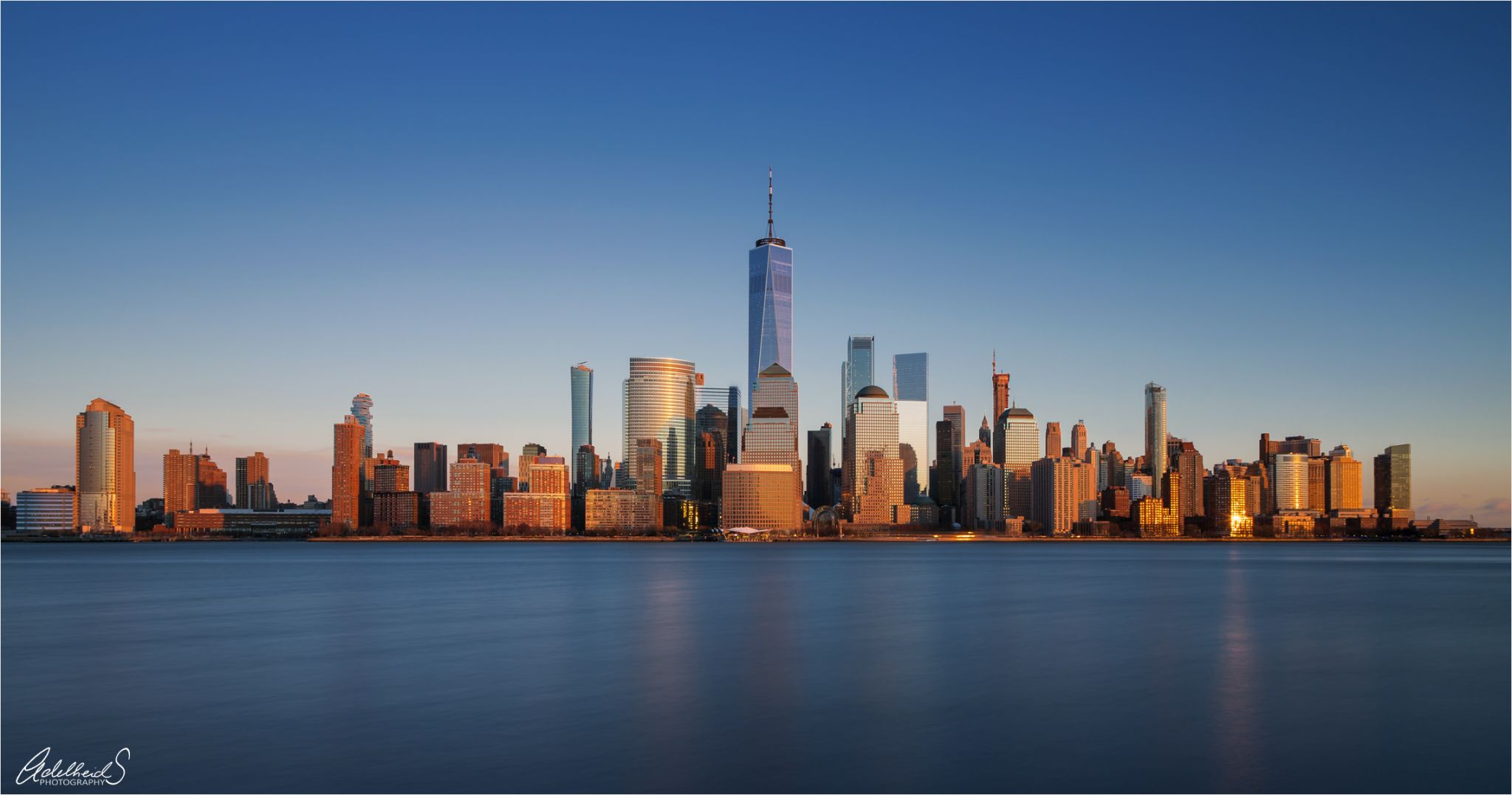 New York from Jersey, USA