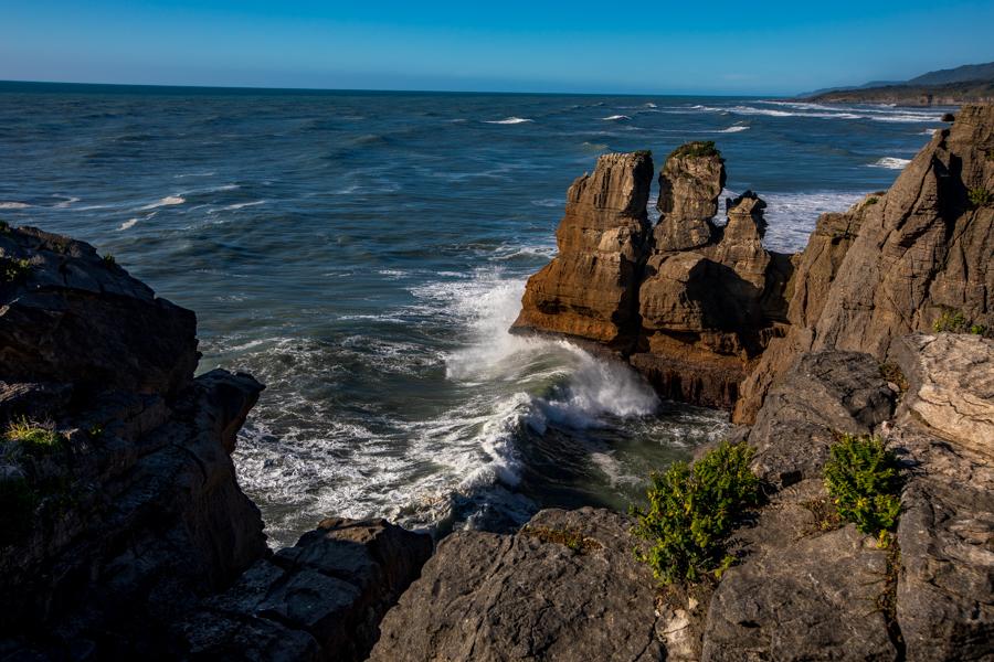 Punakaiki Pancake rocks South Island, New Zealand