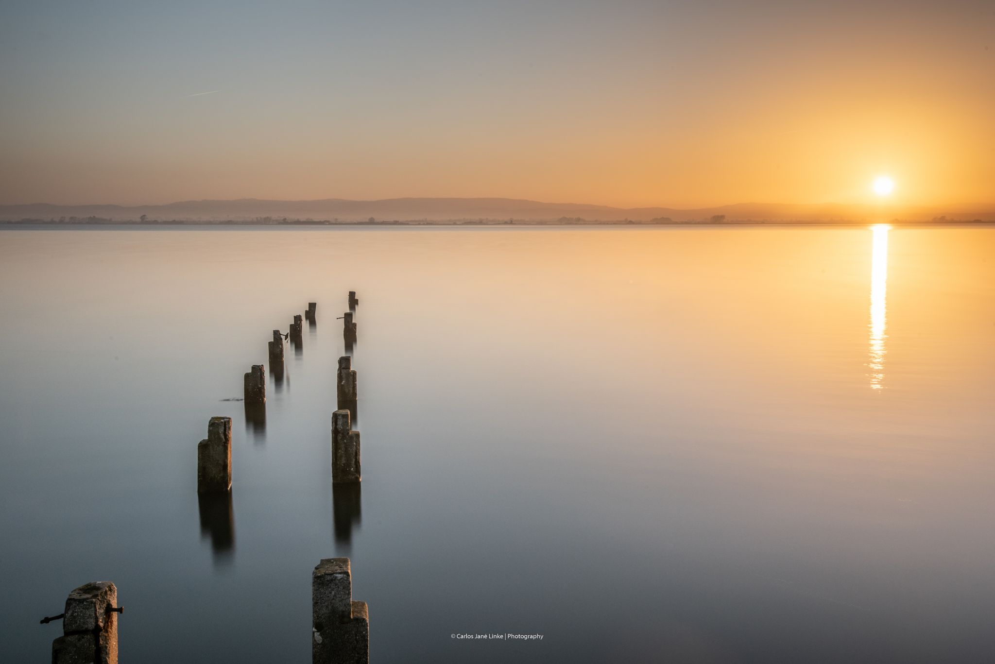 Relaxed sunrise, Portugal
