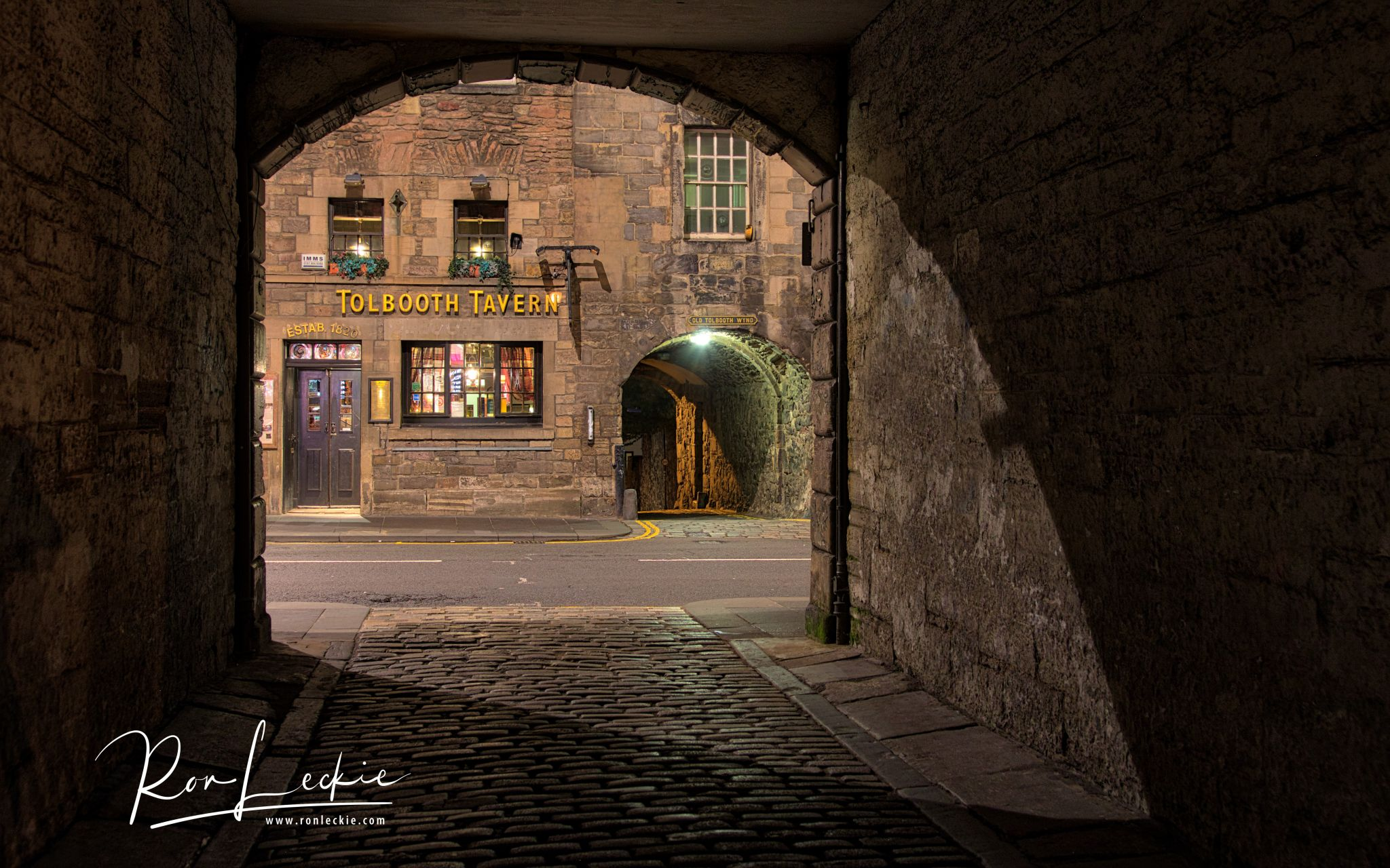 Tolbooth on The Cannongate, Edinburgh's 'Old Town', United Kingdom