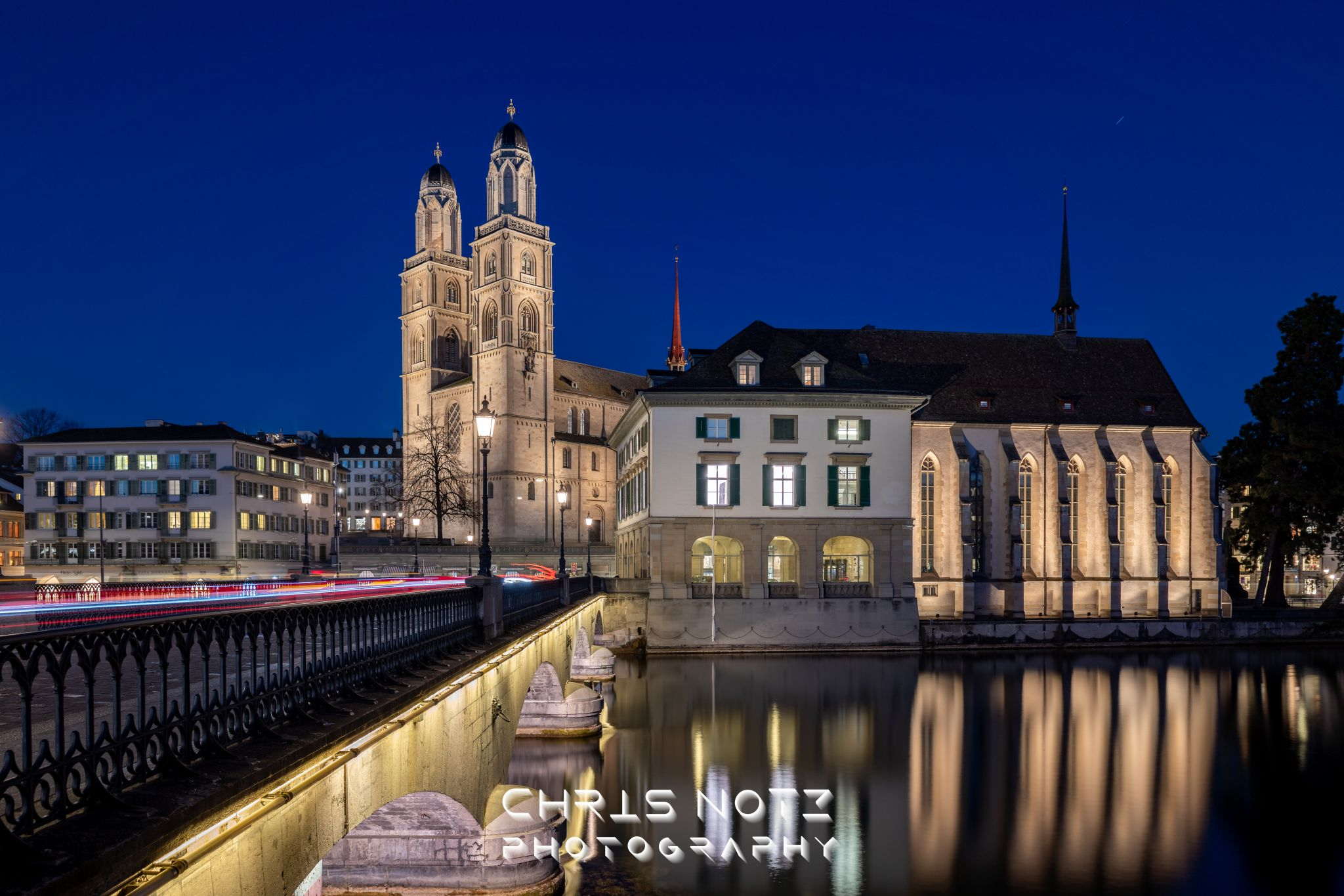 Zürich Grossmünster, Switzerland