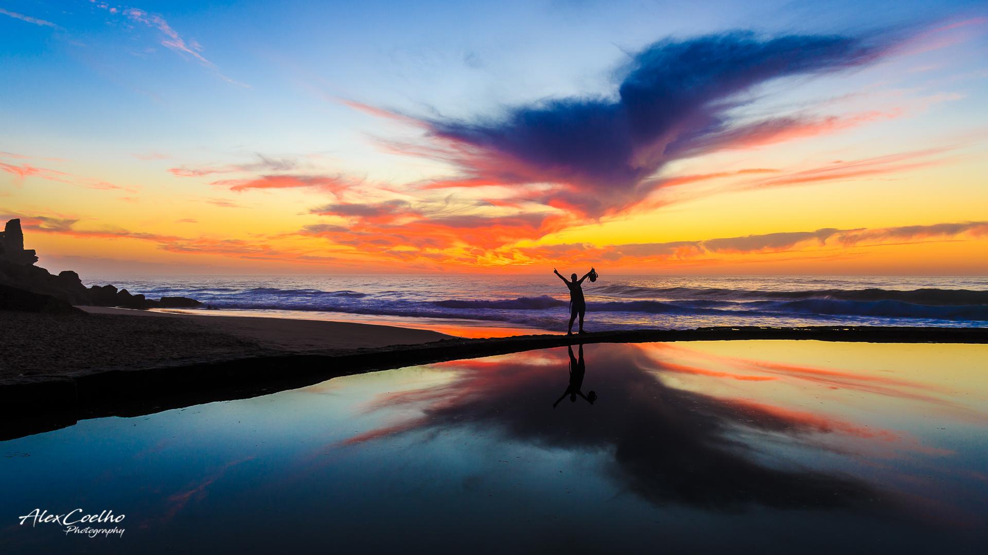 Azenhas do Mar Sunset, Portugal