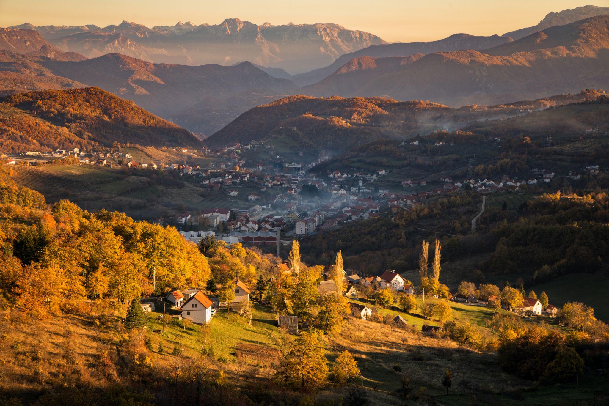 Bosnian landscape, Bosnia and Herzegovina