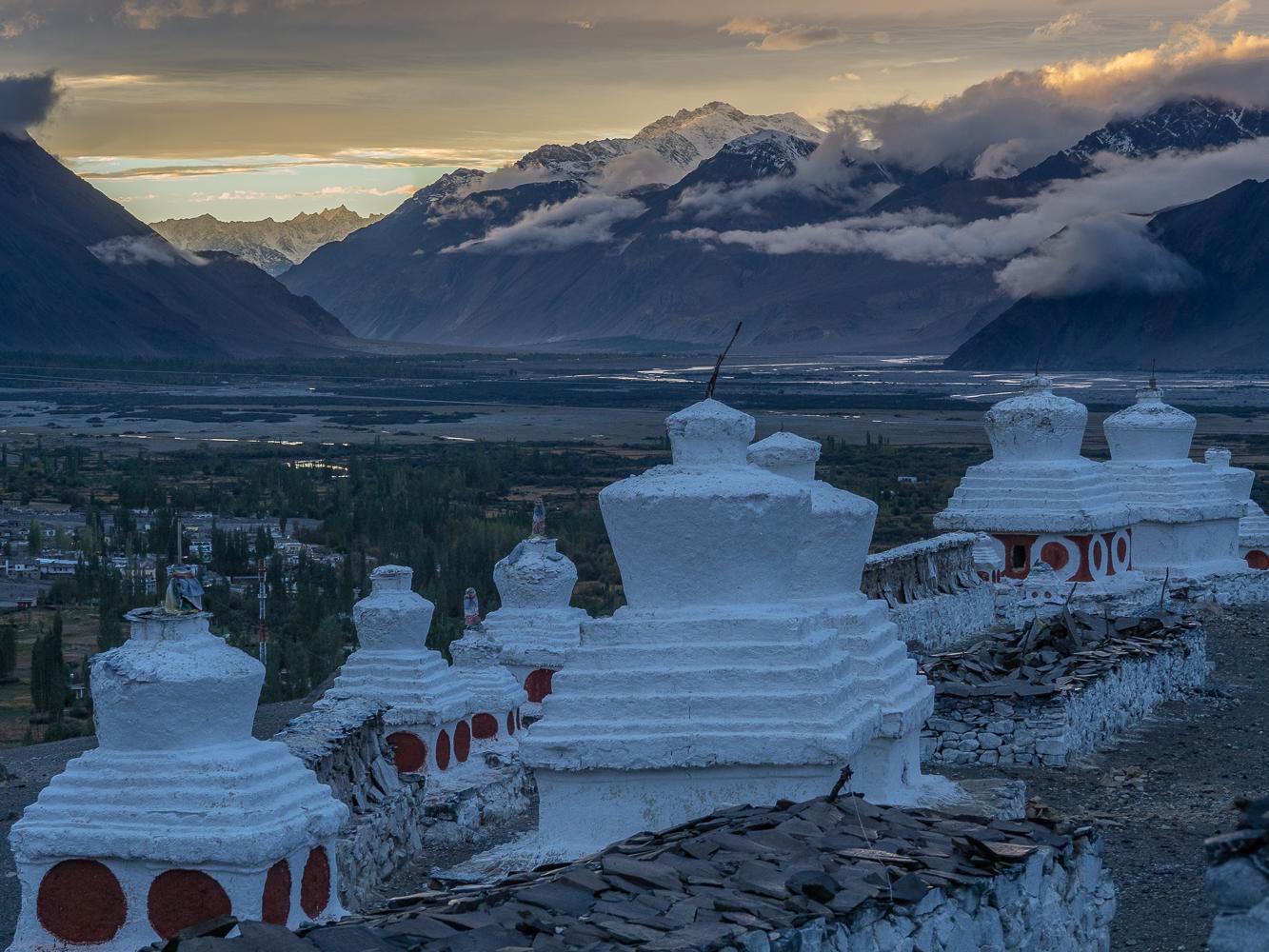 Diskit monastery, India