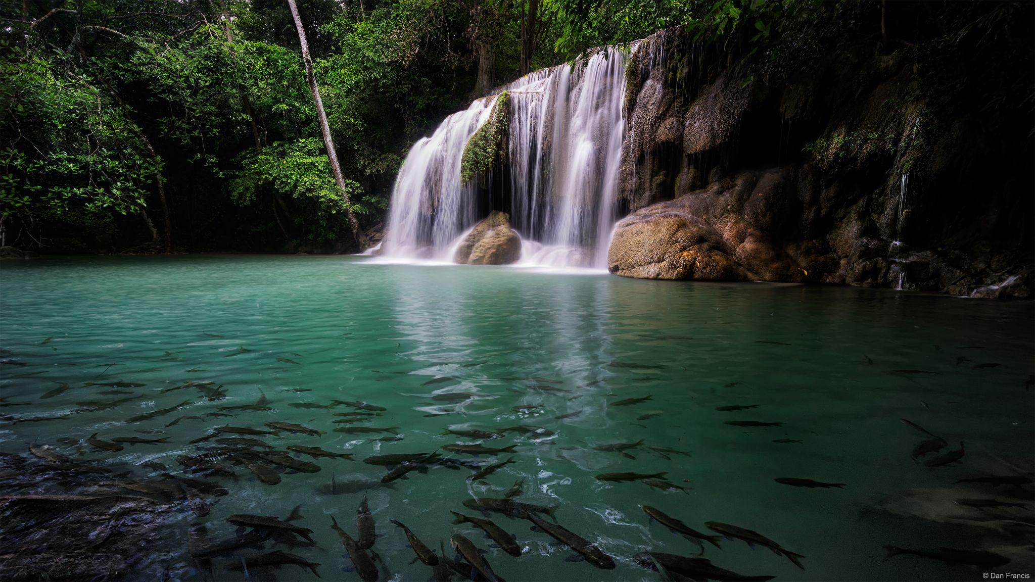 Erewan waterfalls, Thailand
