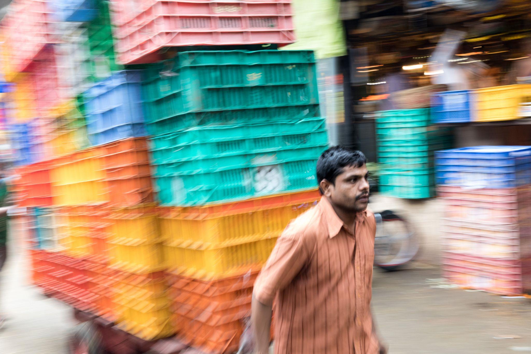 Flower Market, India