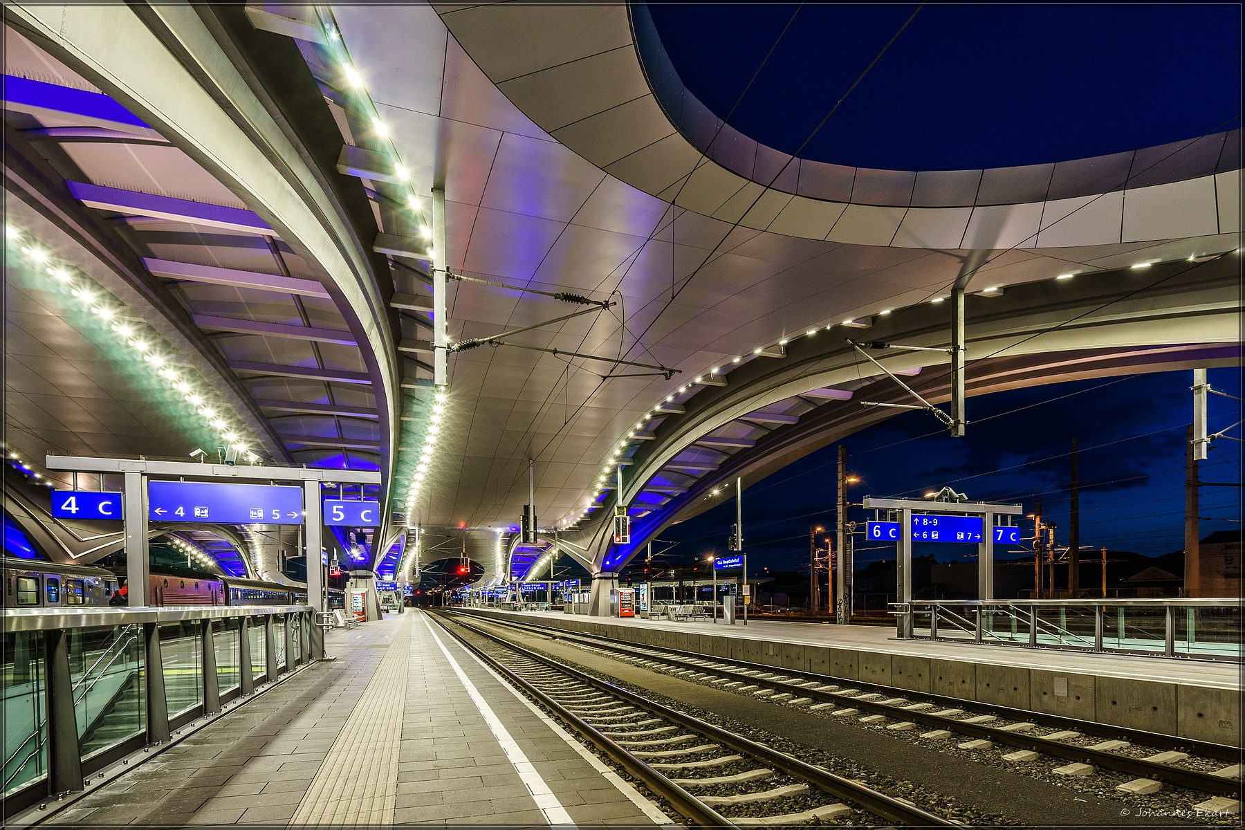 Hauptbahnhof, Graz, Austria
