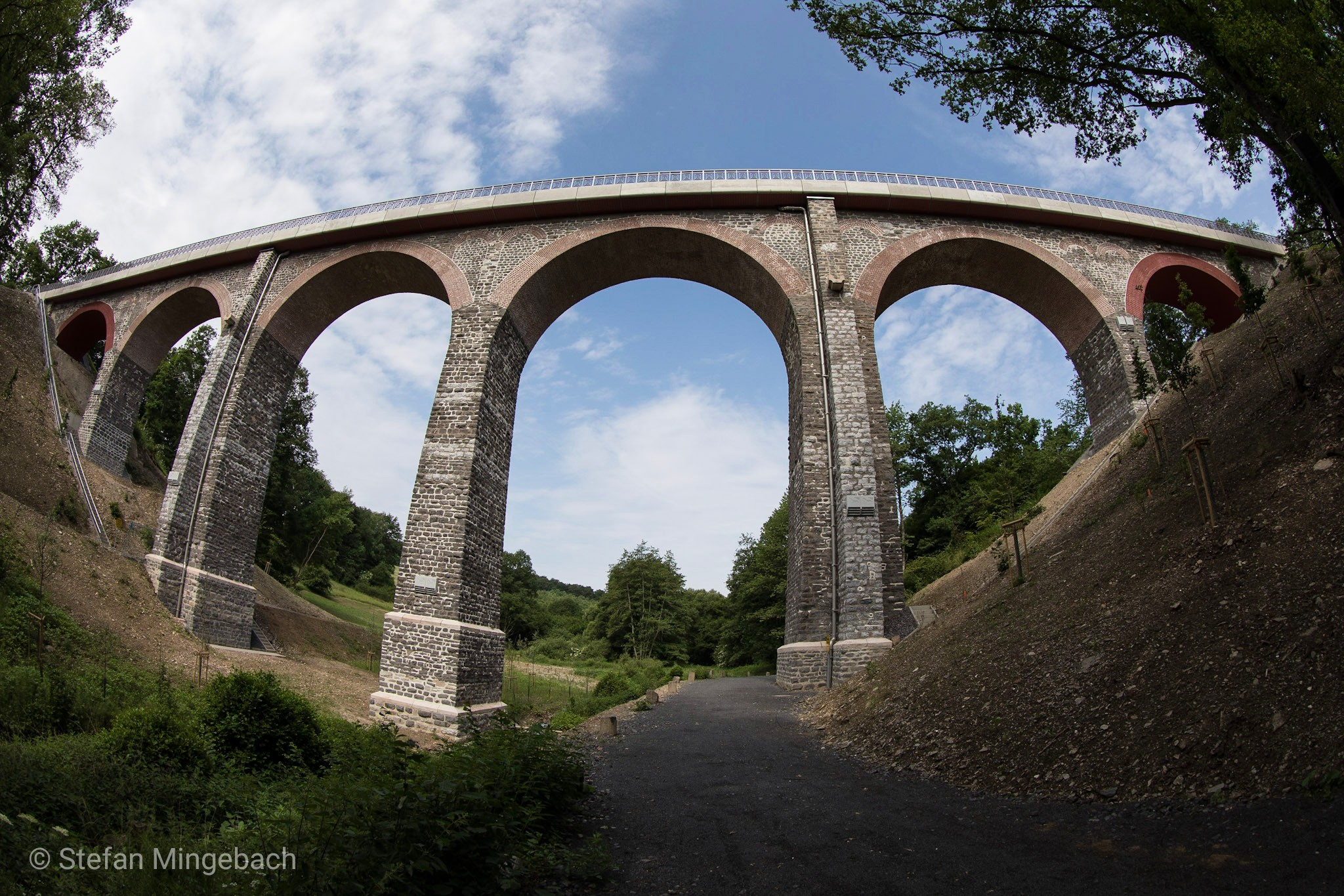 Historische Eisenbahnbrücke, Germany