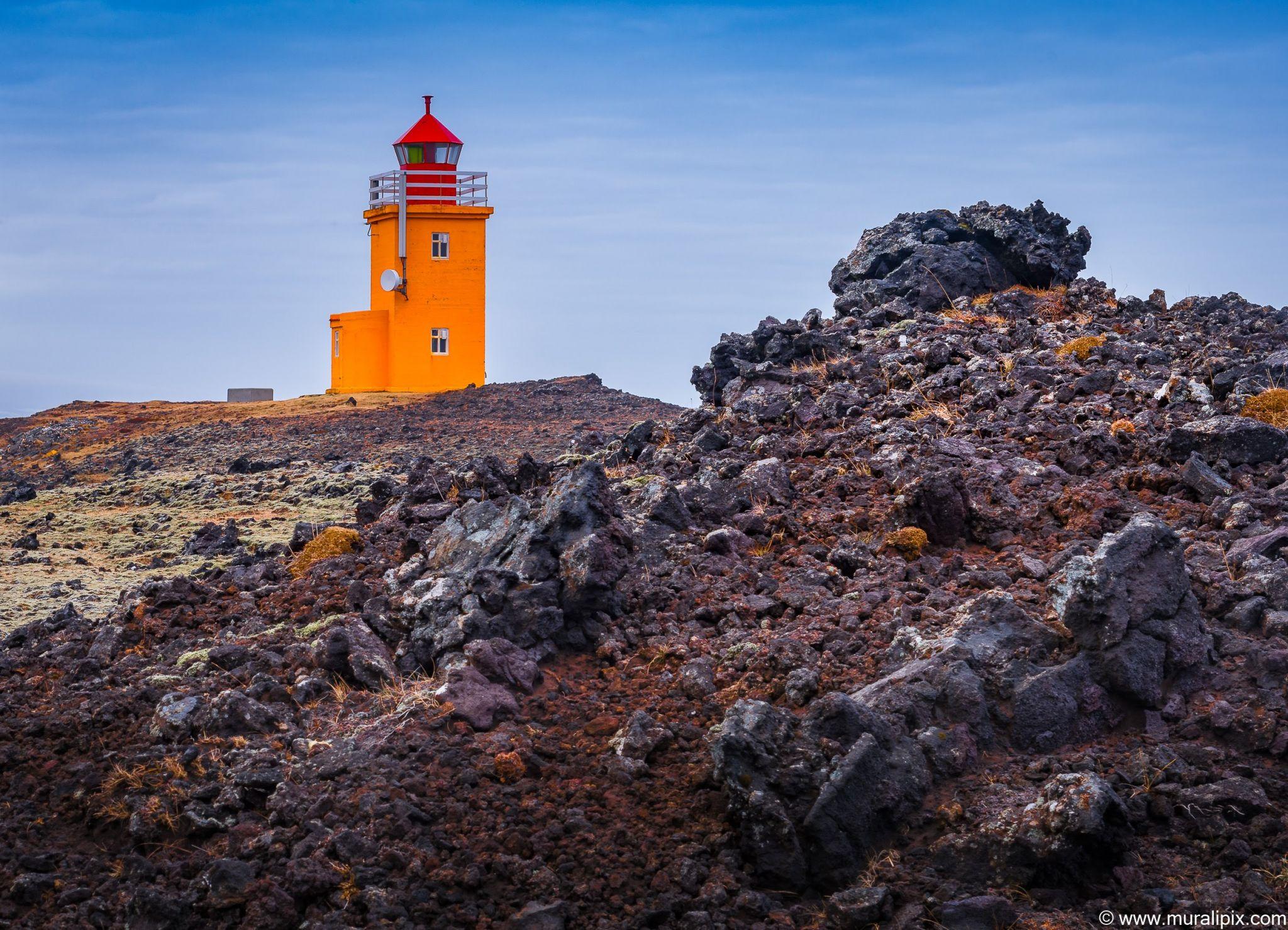 Hópsnesviti Lighthouse, Iceland