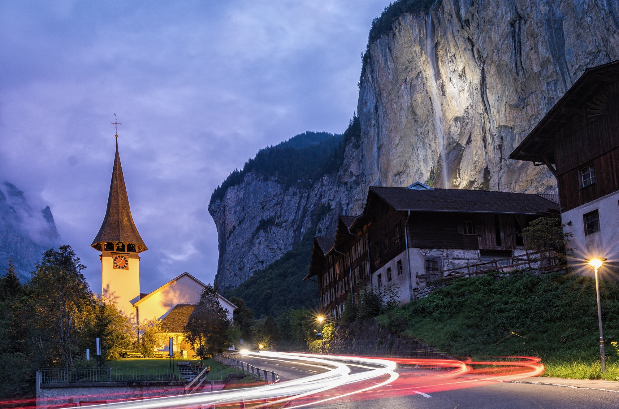 Kirche Lauterbrunnen, Switzerland
