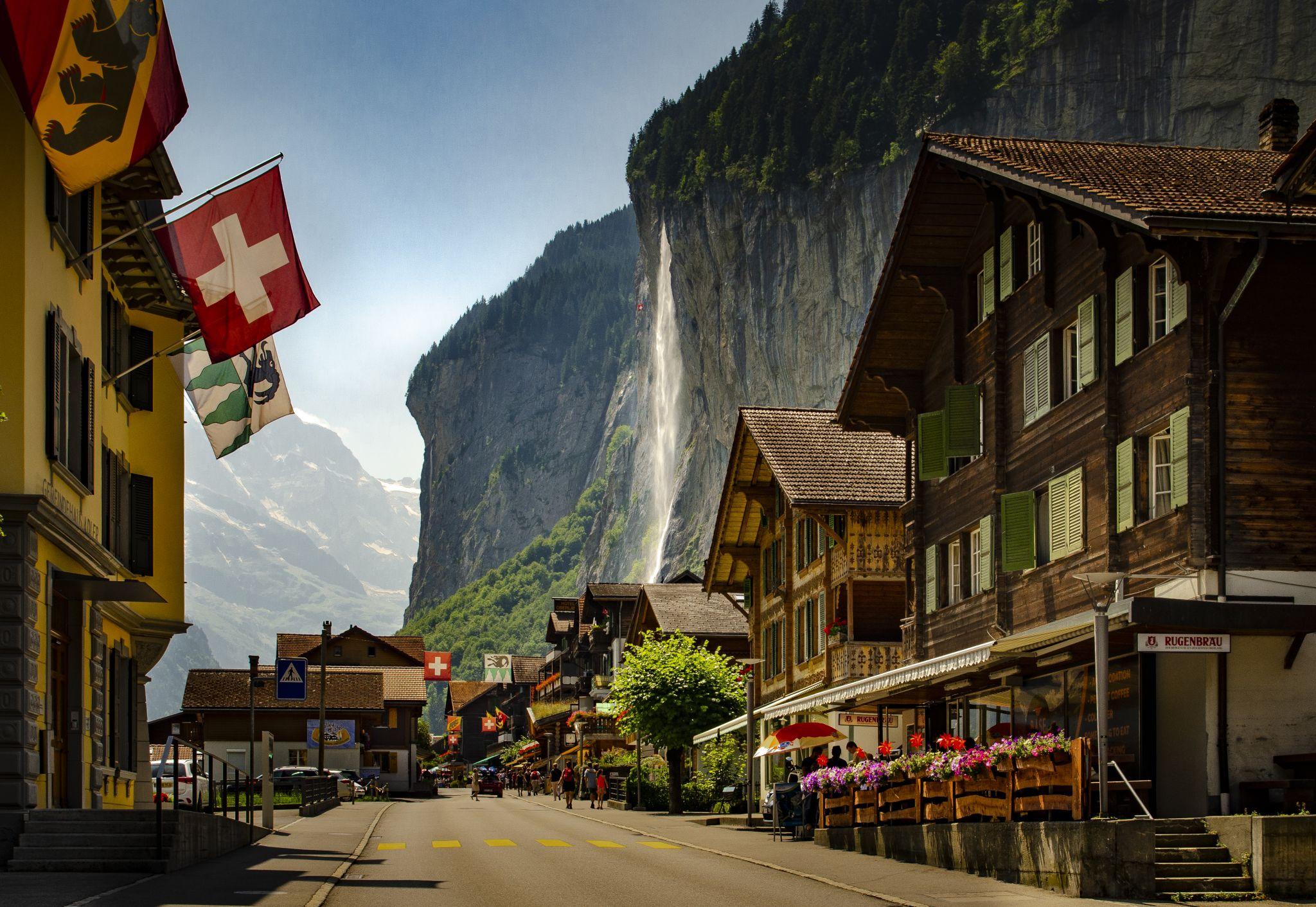 Lauterbrunnen Village, Switzerland