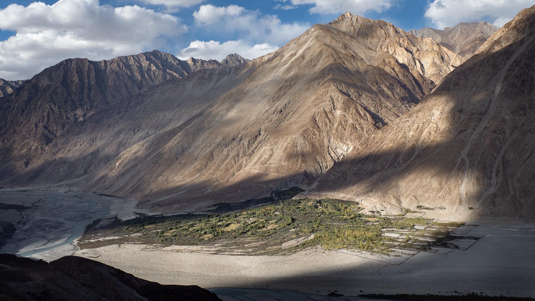Nubra valley, Terith, India