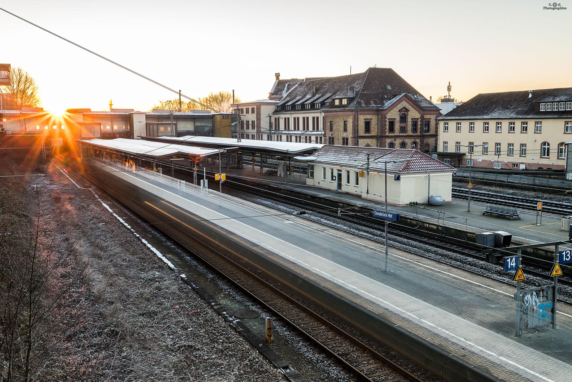 Osnabrück Hauptbahnhof, Germany