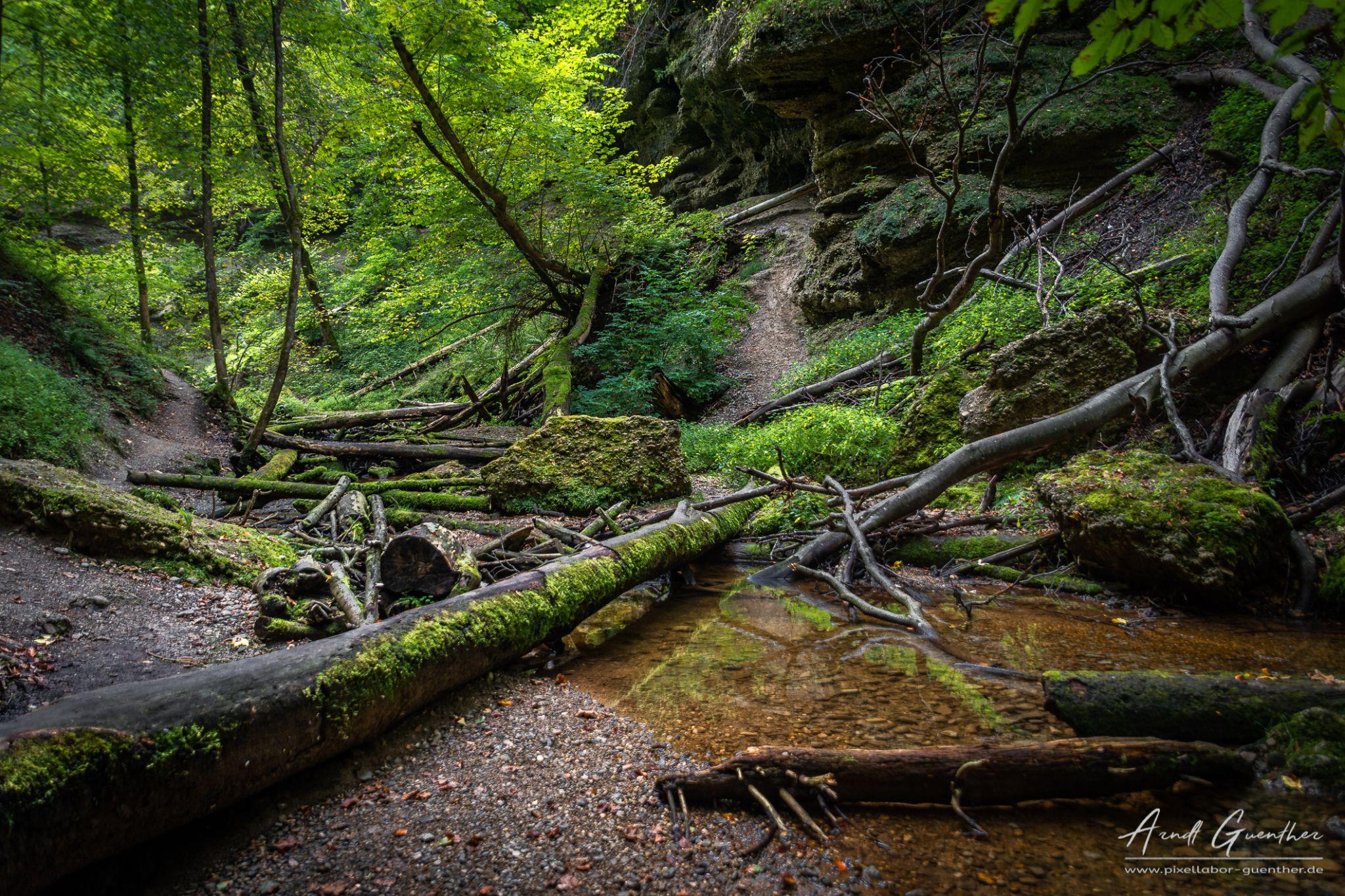 Pähler Gorge, Germany