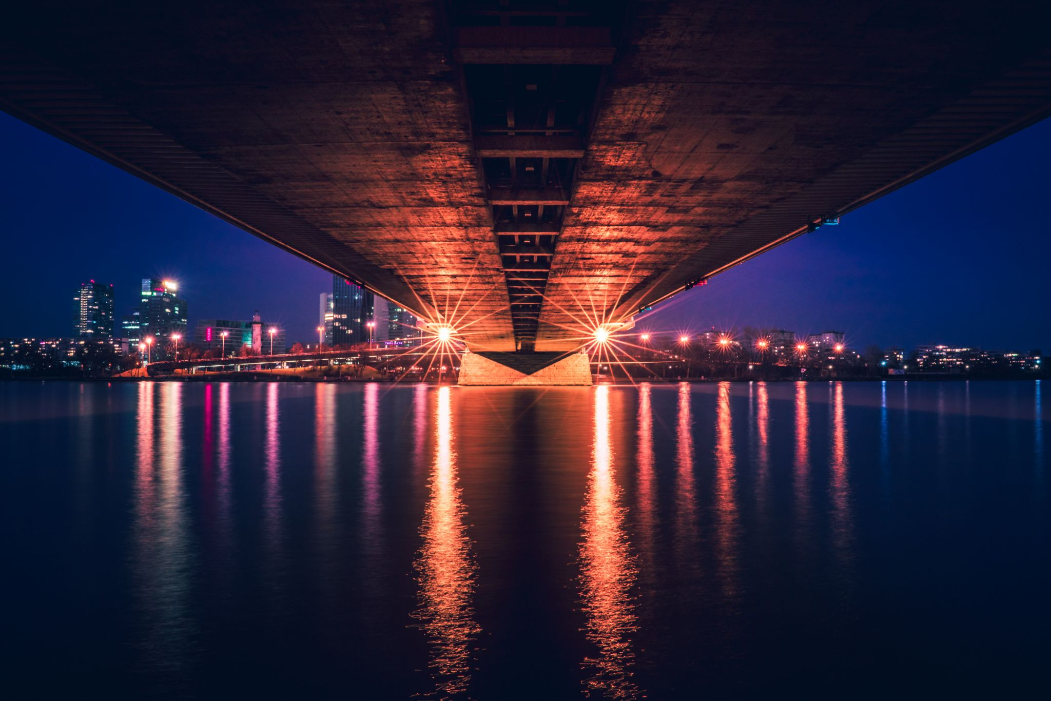 Reichsbrücke, Vienna, Austria