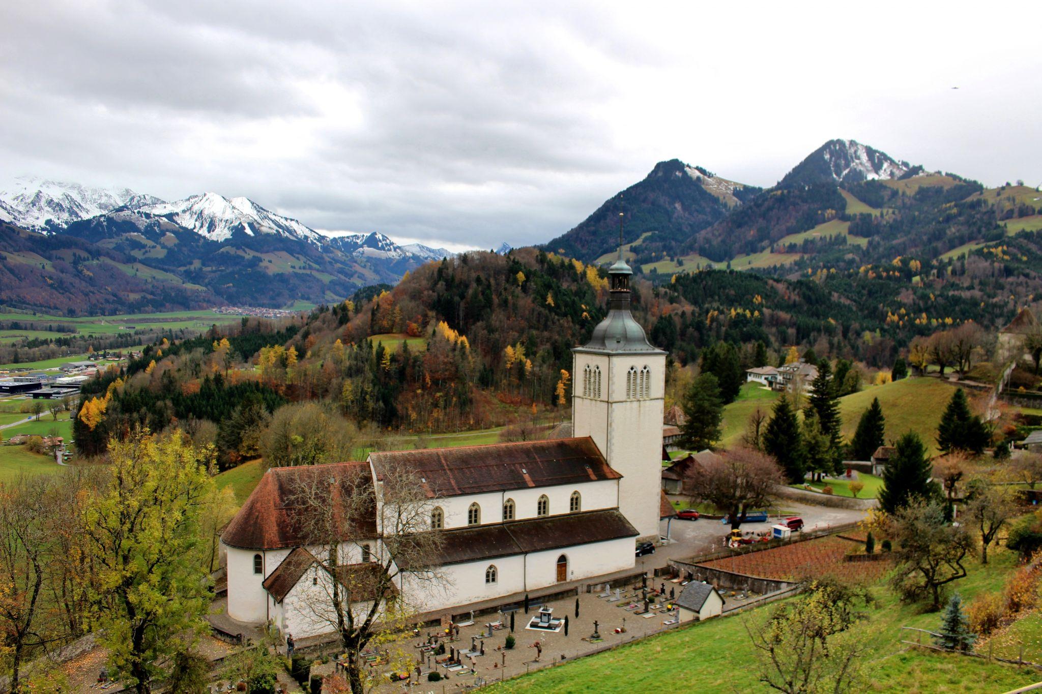 Saint-Théodule Church, Switzerland