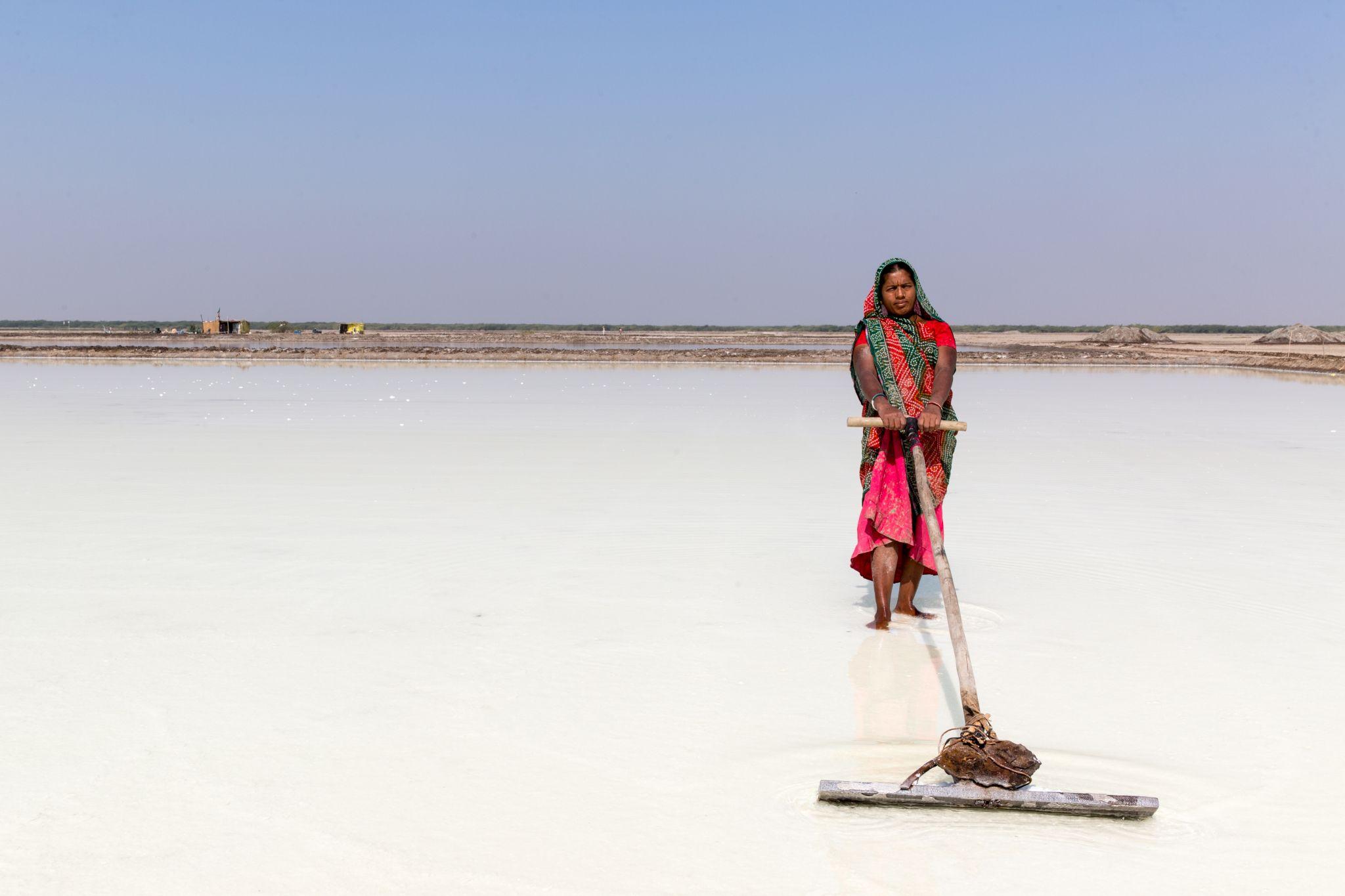 Salt Flats, India