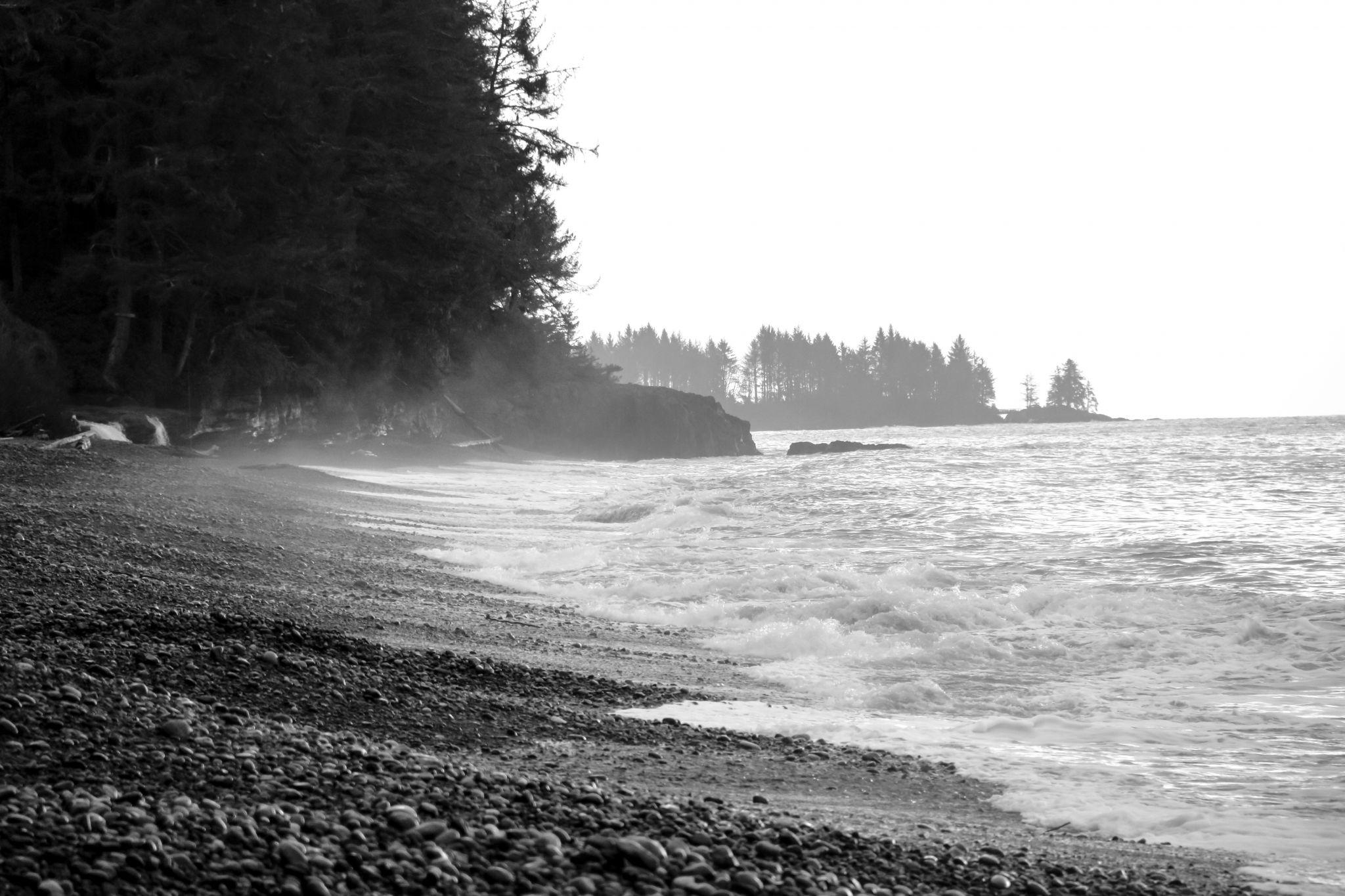 Sandcut beach, Canada