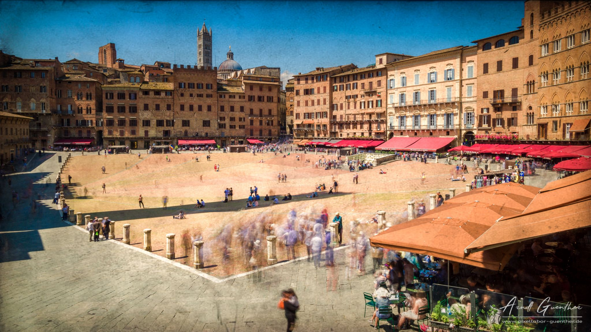 Siena Piazza del Campo, Italy