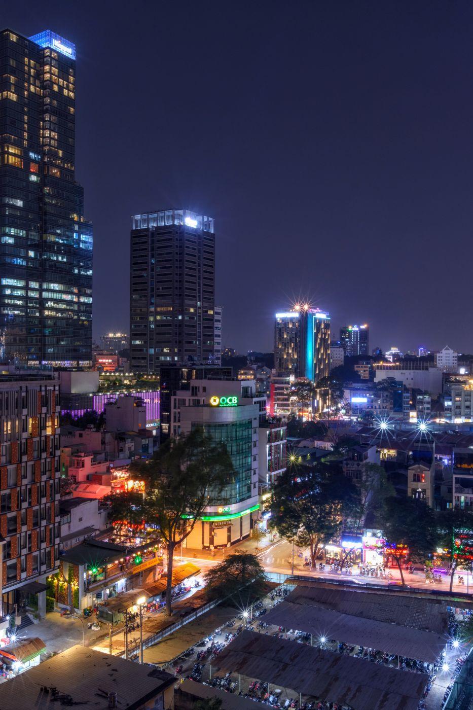 Silverland Charner Hotel Rooftop Bar, Vietnam
