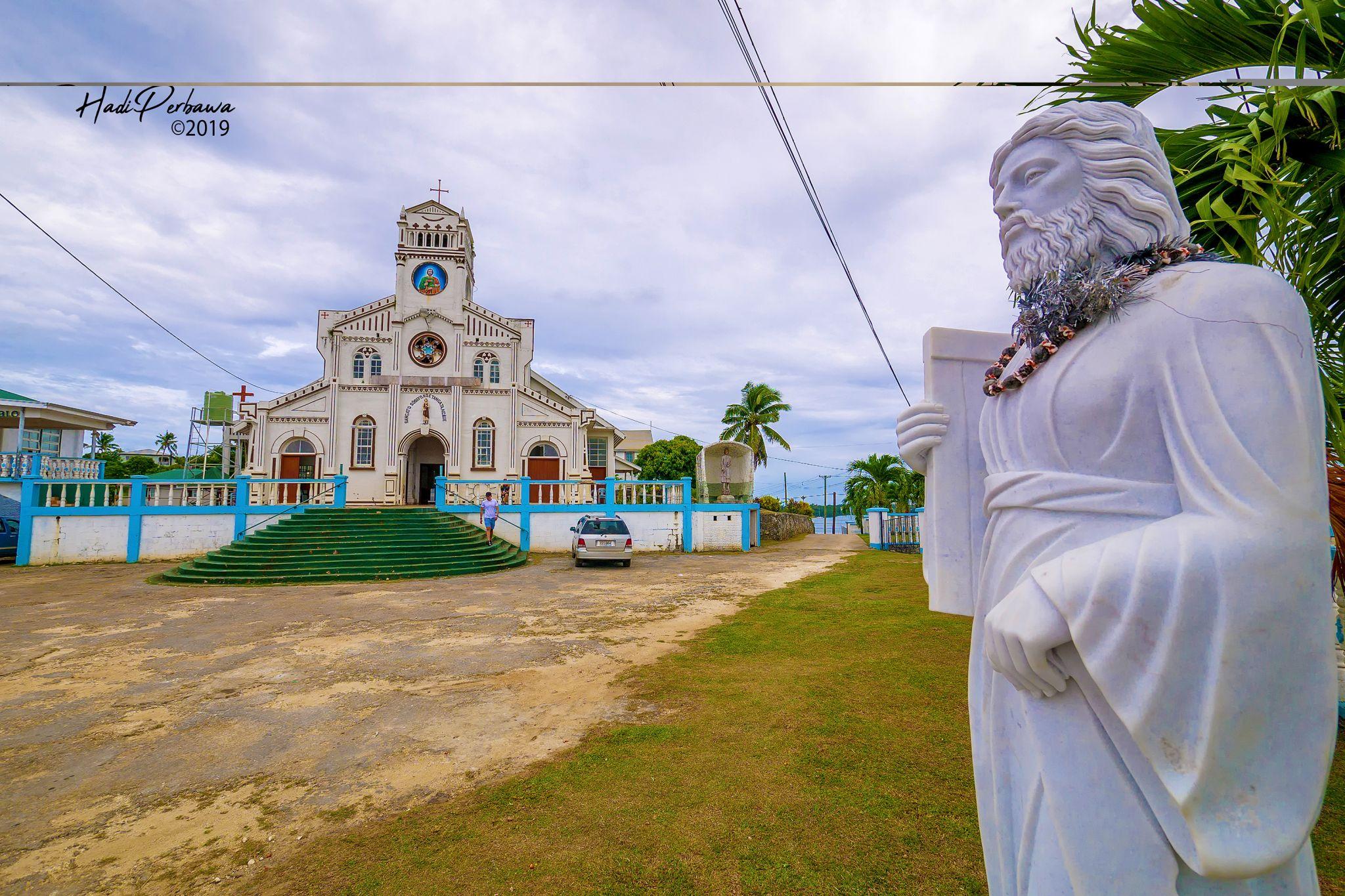 St Joseph's Cathedral Neiafu-Tonga, Tonga