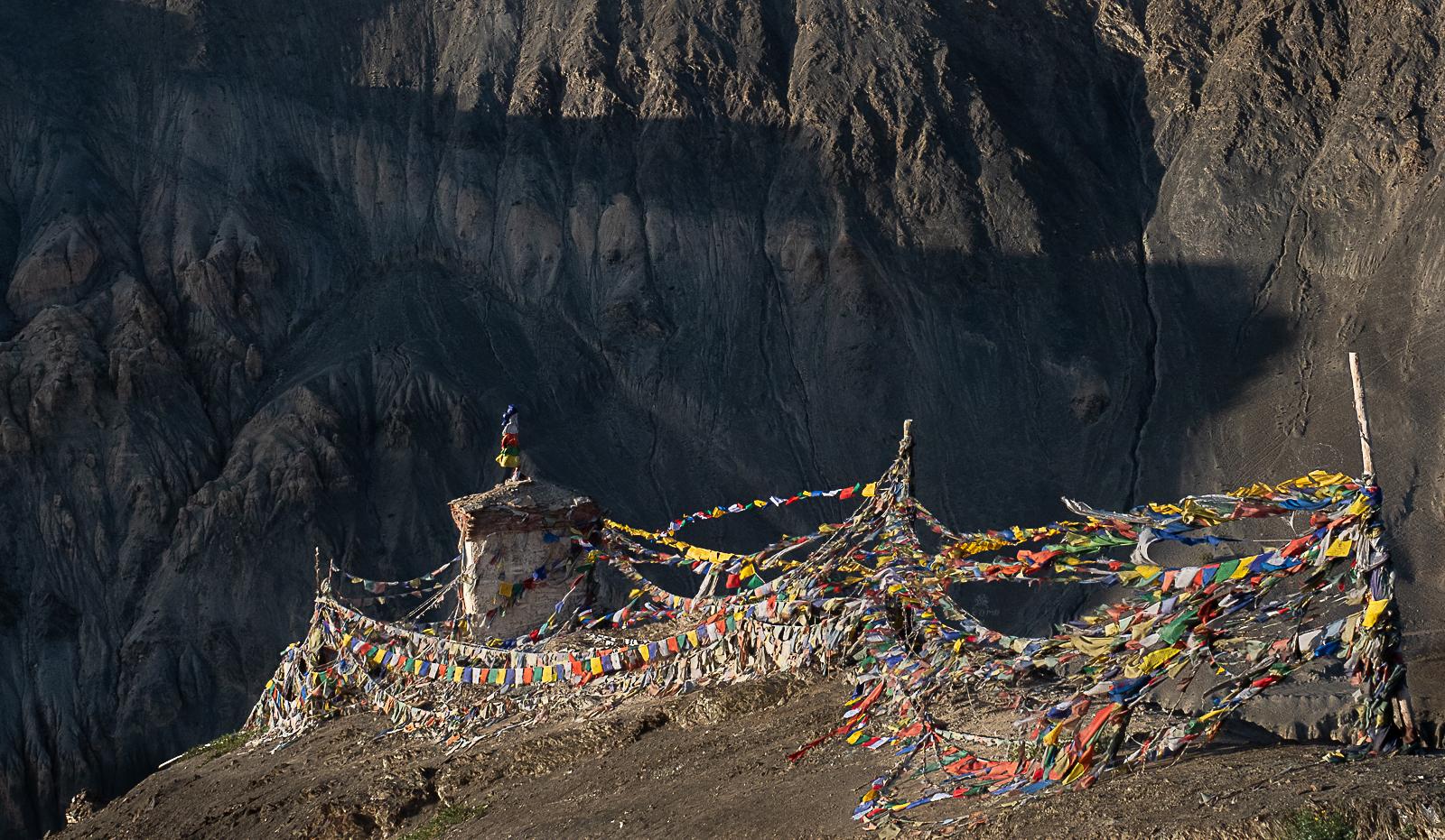 Stupa near Lamayuru, India