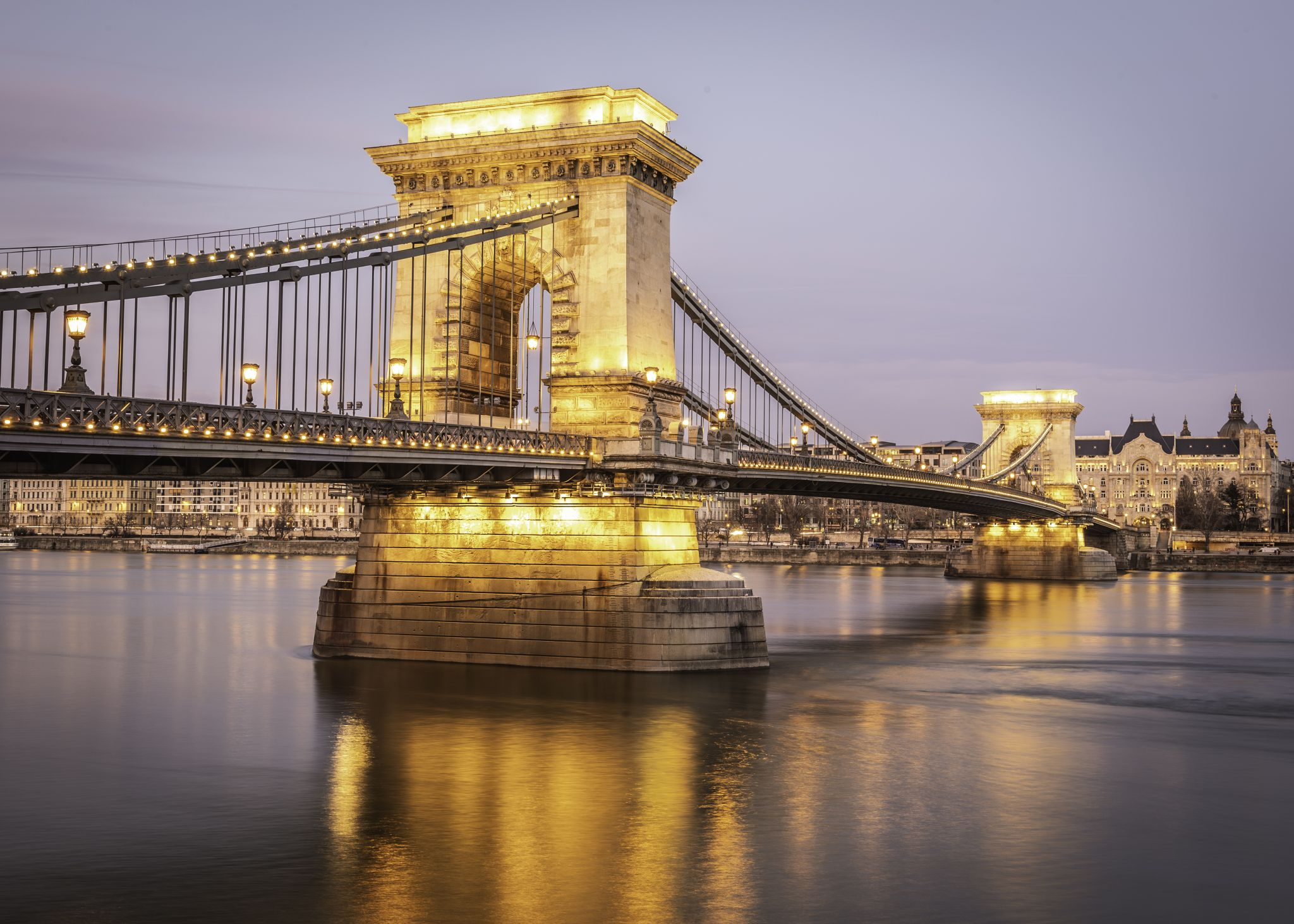 Szechenyi Bridge, Hungary