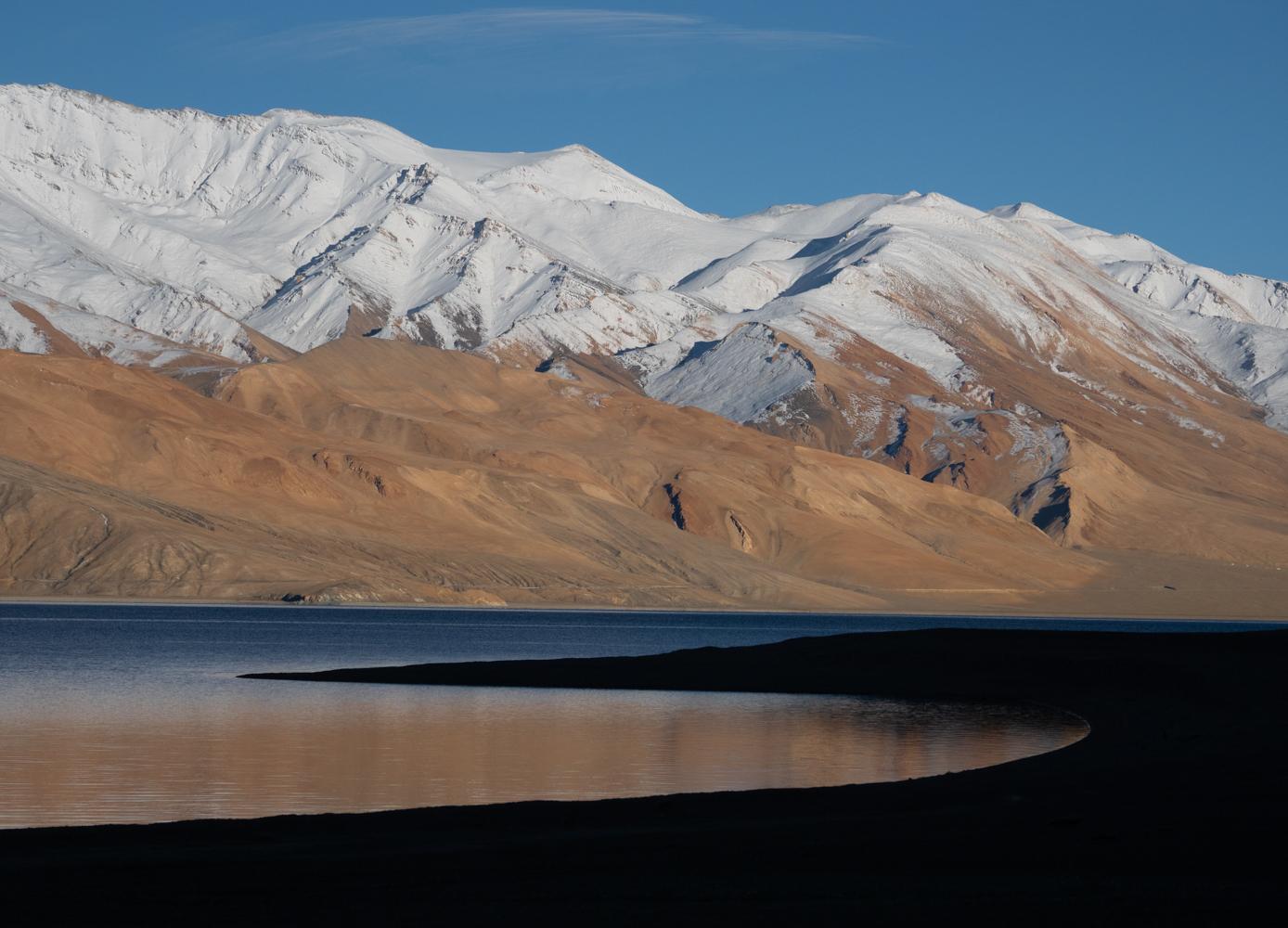 Tso Moriri lake, Ladakh, India, USA