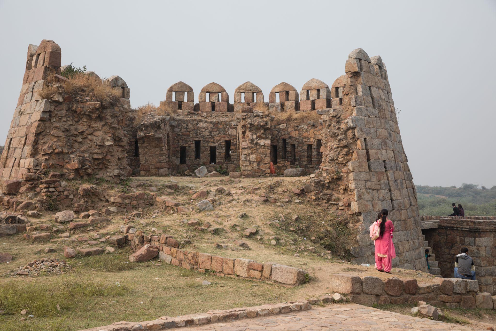 Tughlaqabad Fort, India