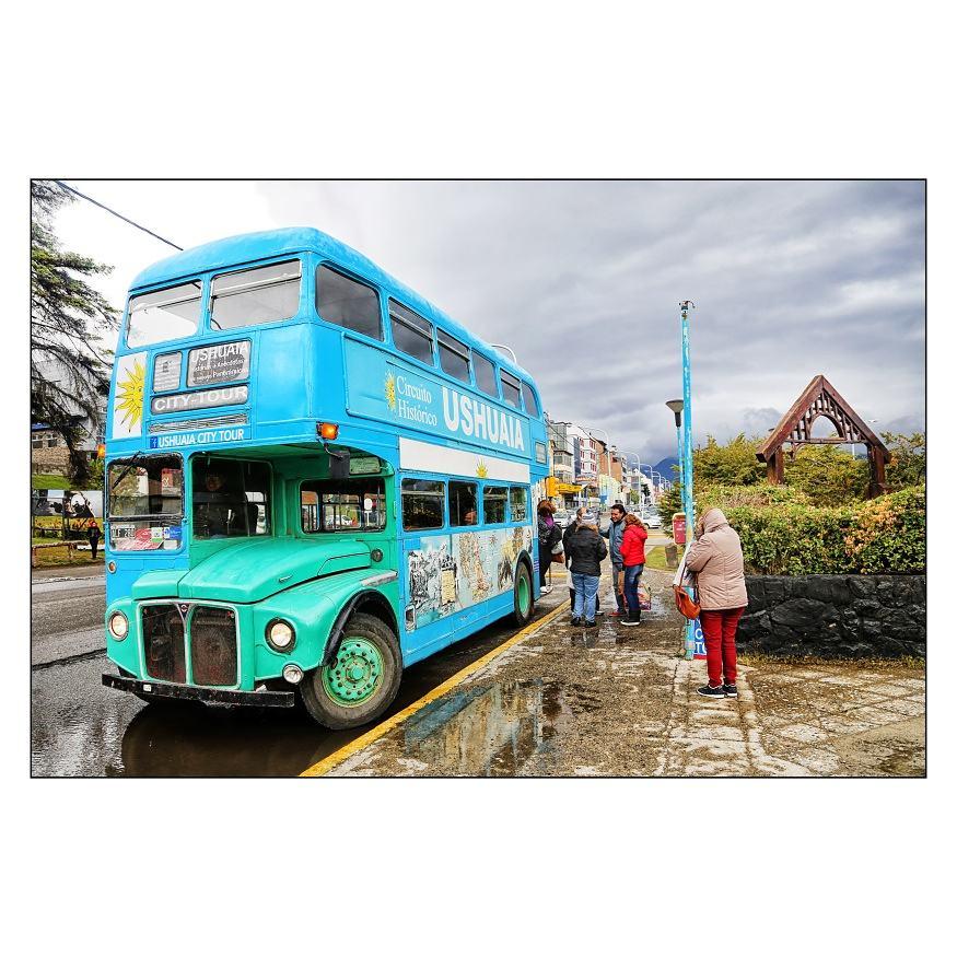 Ushuaia Vintage Bus, Argentina
